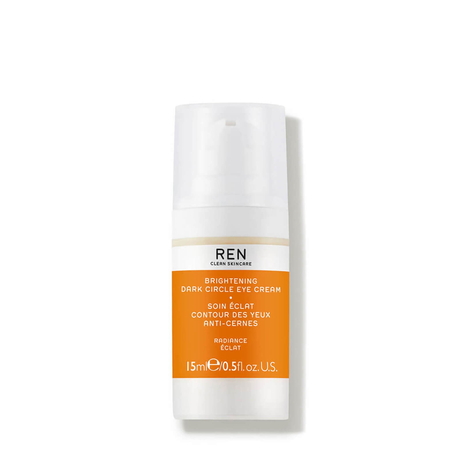 REN Clean Skincare Radiance Brightening Dark Circle Eye Cream 15ml