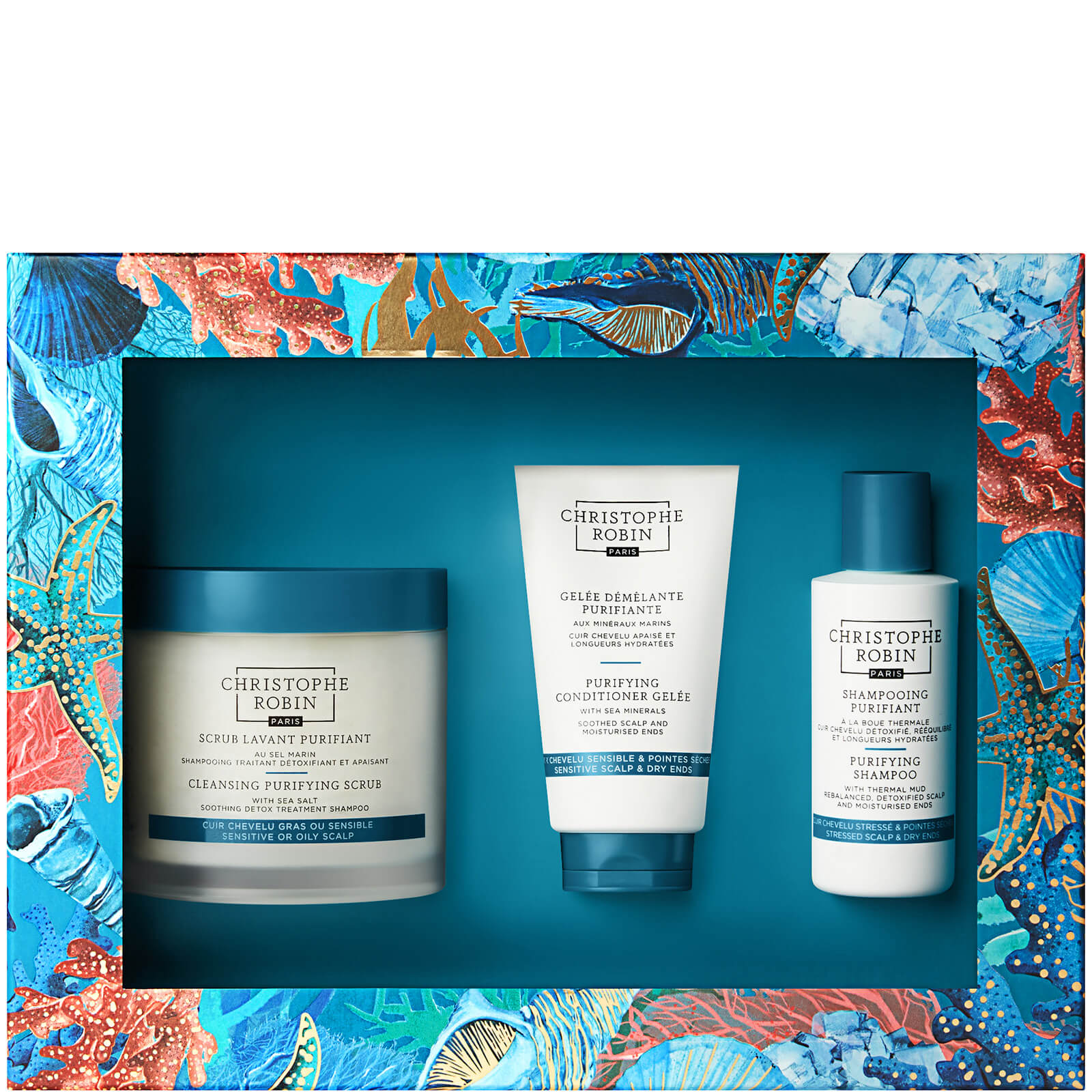 Купить Christophe Robin New Detox Ritual Gift Set