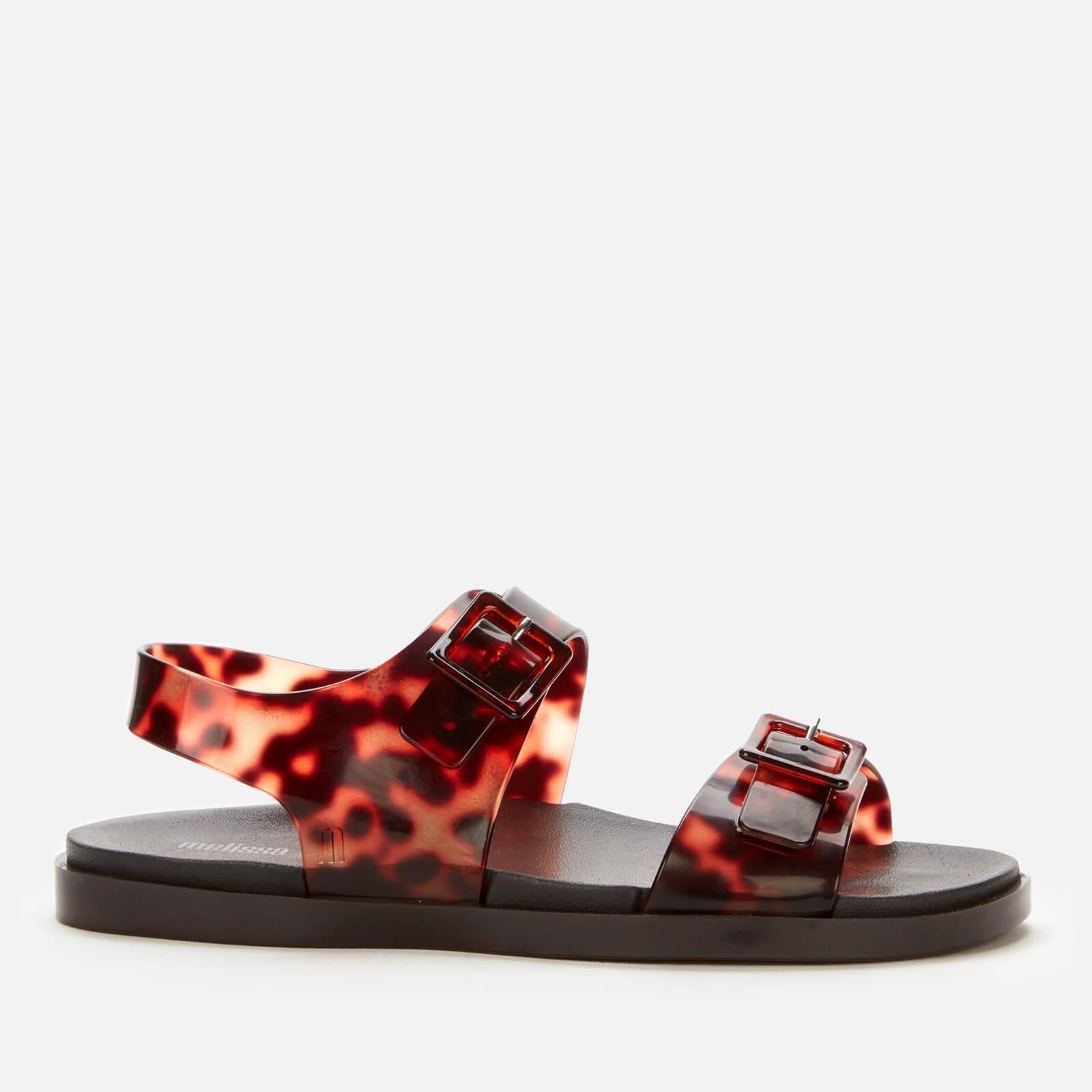 Melissa Women's Wide Double Strap Sandals - Tortoiseshell - UK 7
