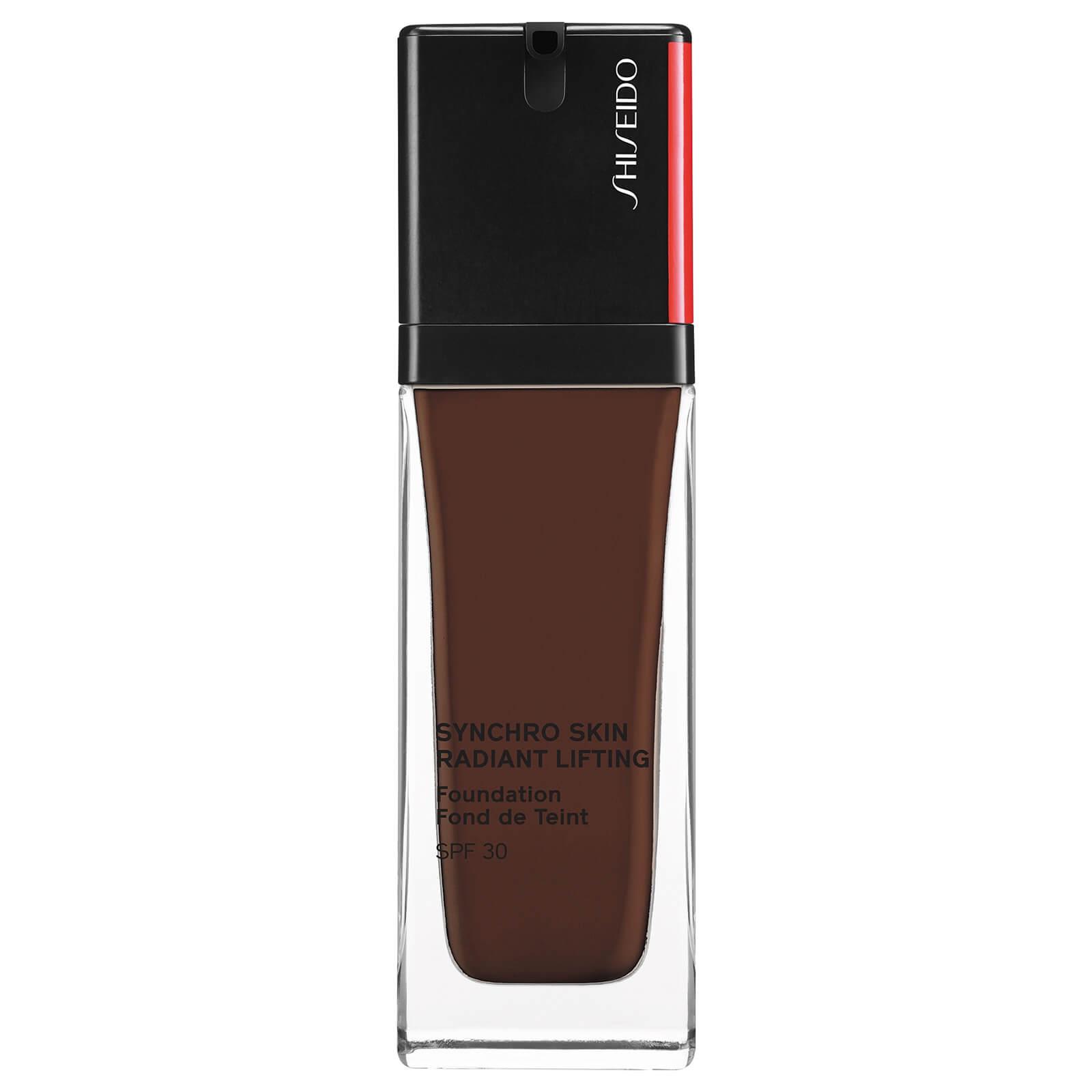 Shiseido Synchro Skin Radiant Lifting SPF30 Foundation 30ml (Various Shades) - 560 Obsidian