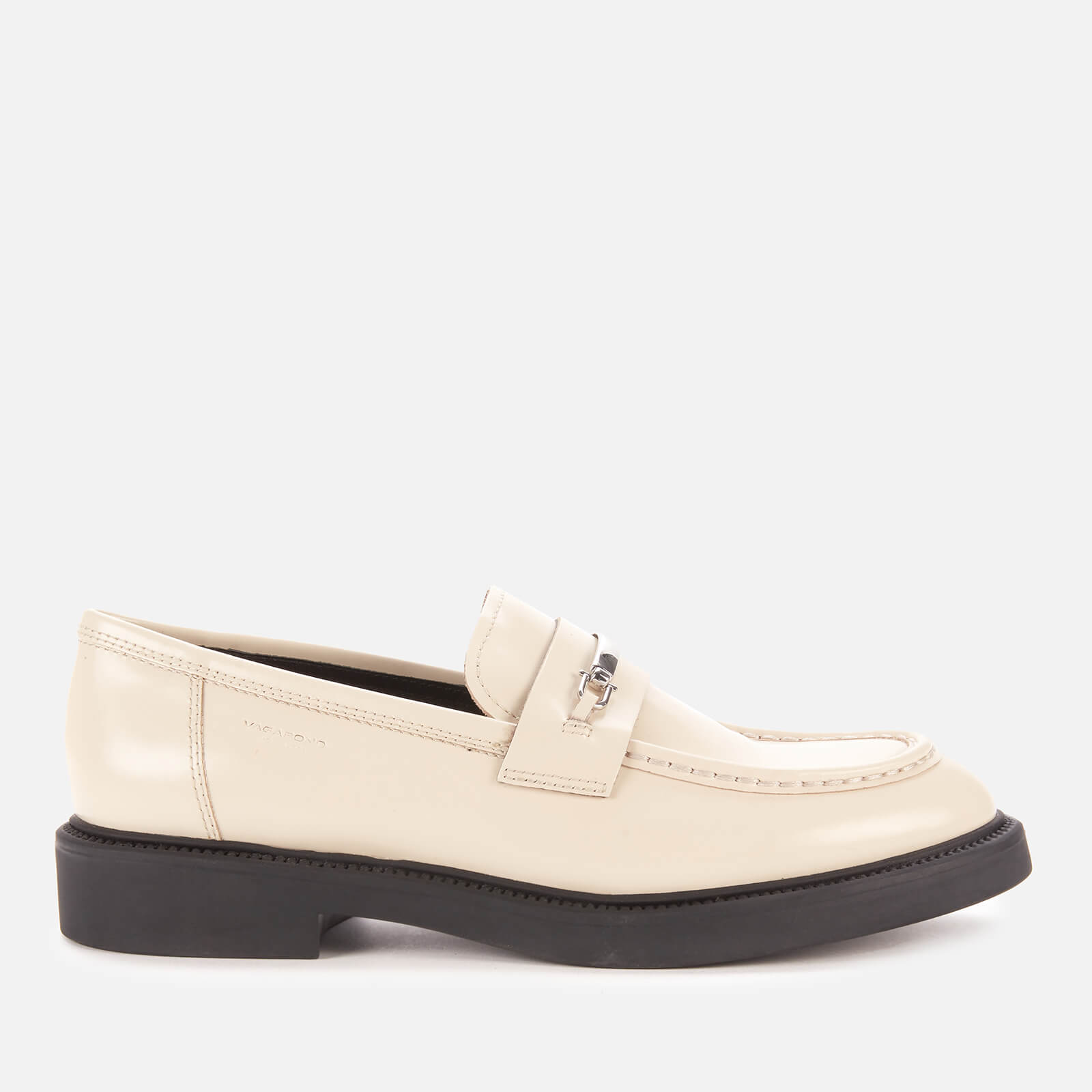 Vagabond Women's Alex W Leather Loafers - Off White - Uk 5