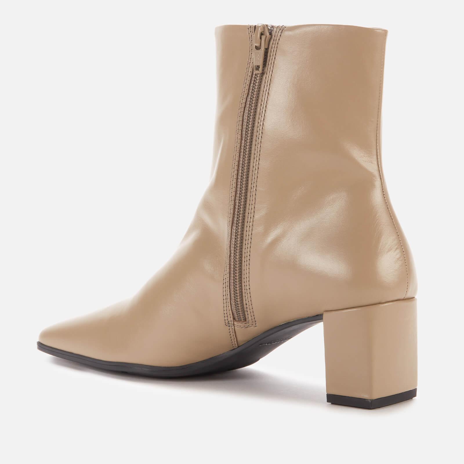 Vagabond Women's Tessa Leather Ankle Boots - Sage - Uk 3