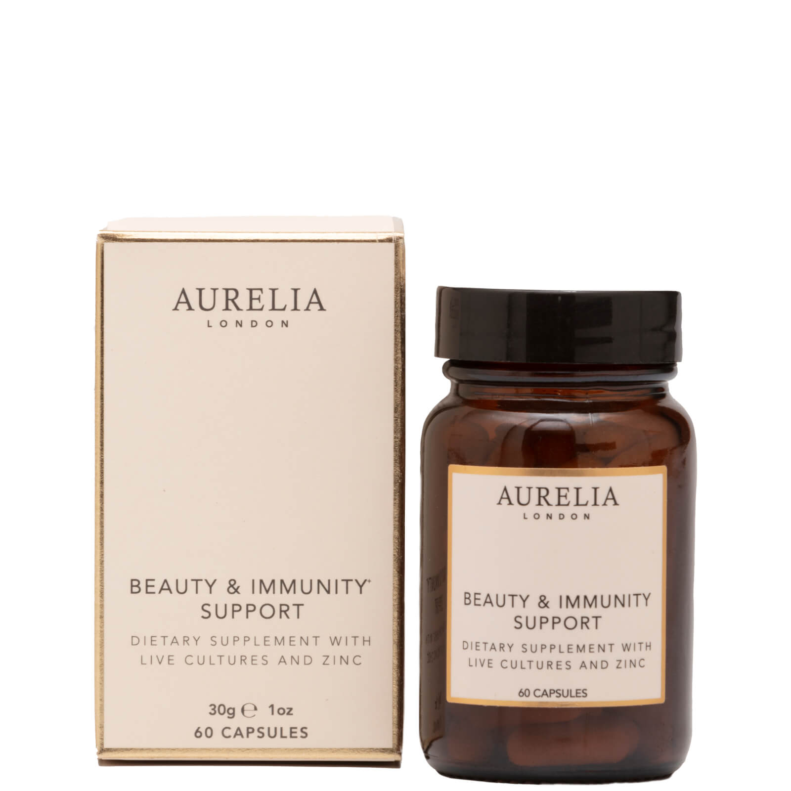 Aurelia Probiotic Skincare Beauty and Immunity Support Supplements (60 Capsules)