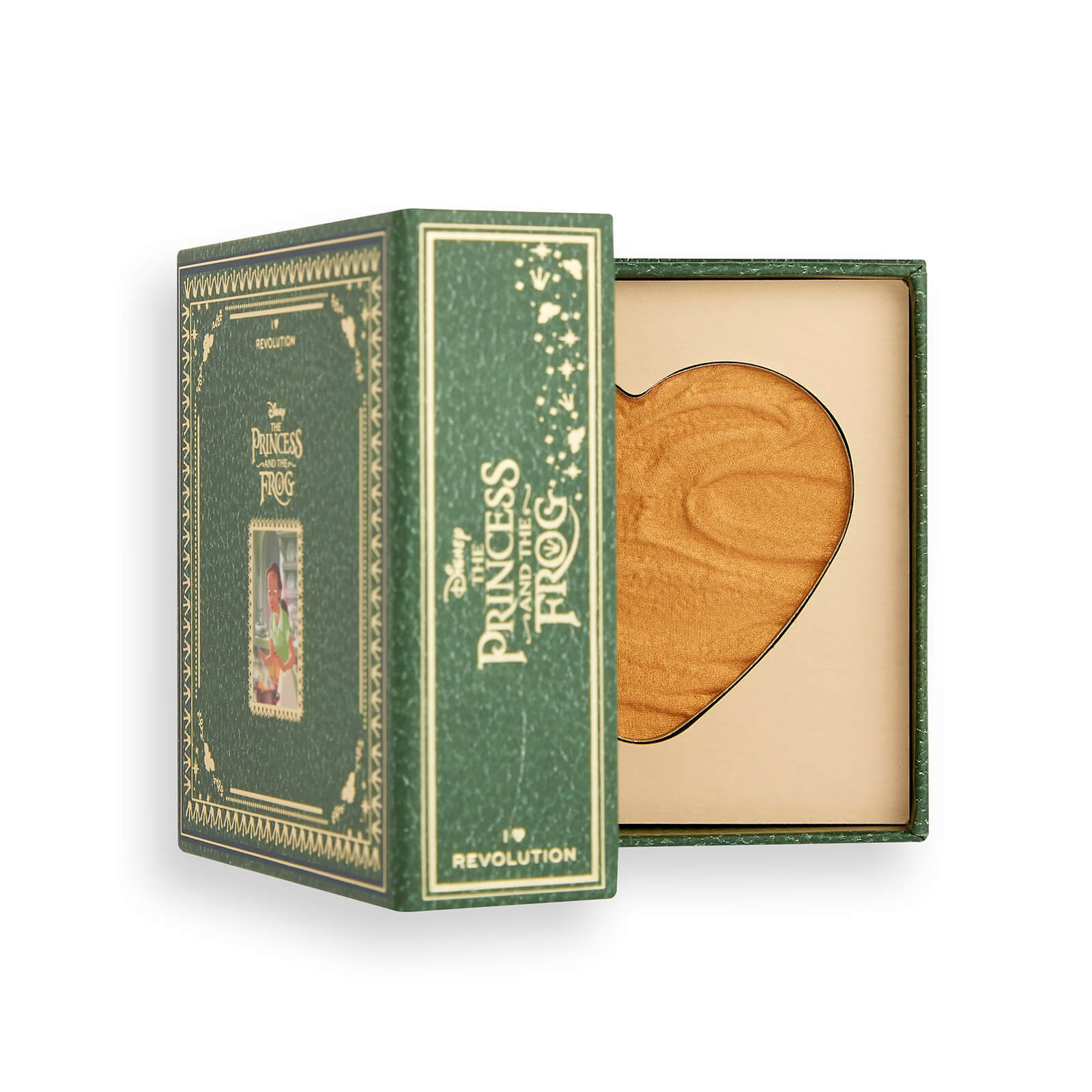 Купить Палетка хайлайтеров Revolution I Heart Revolution X Disney Storybook Heart Highlighter Tiana