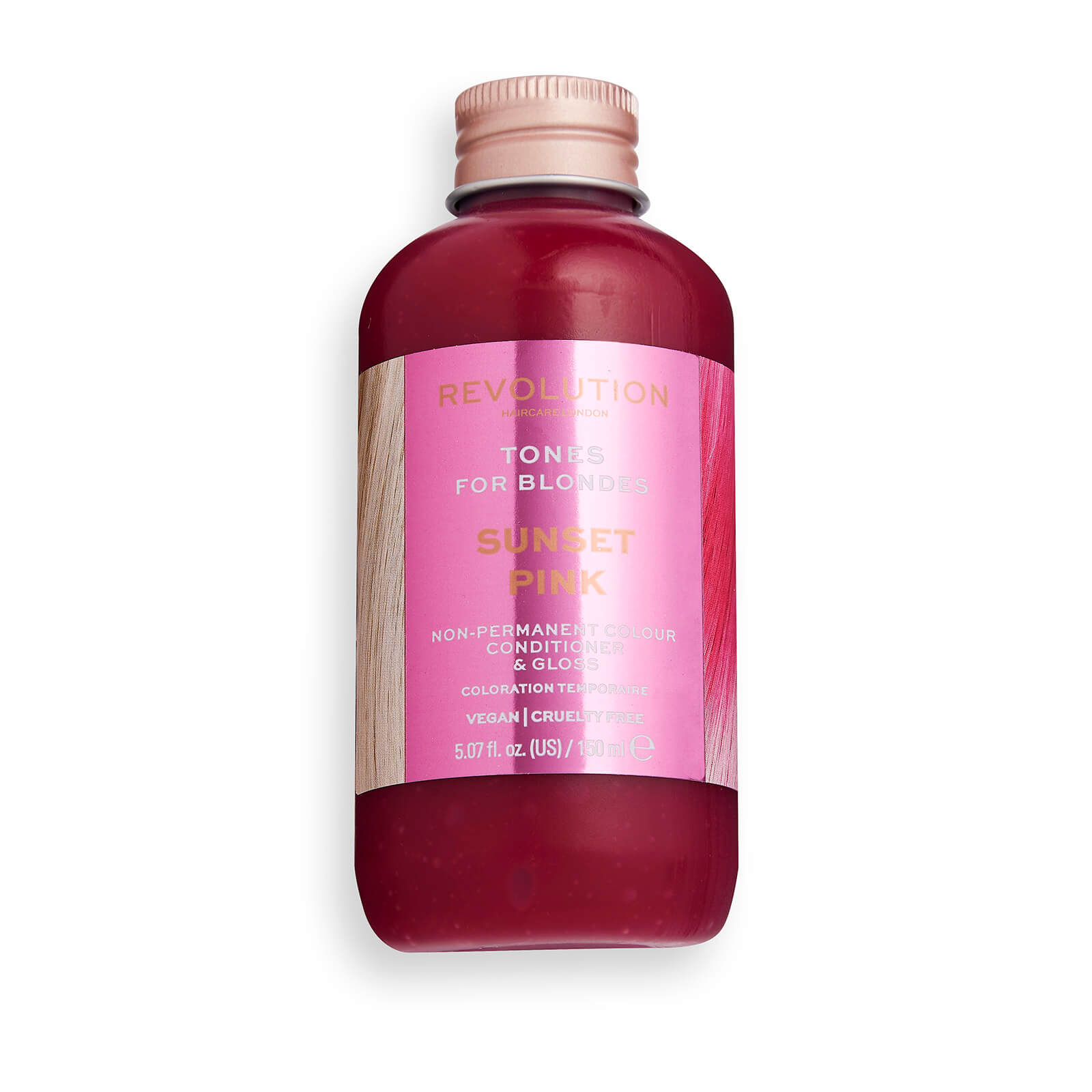 Revolution HairTonesfor Blondes 150ml (Various Shades) - Sunset Pink