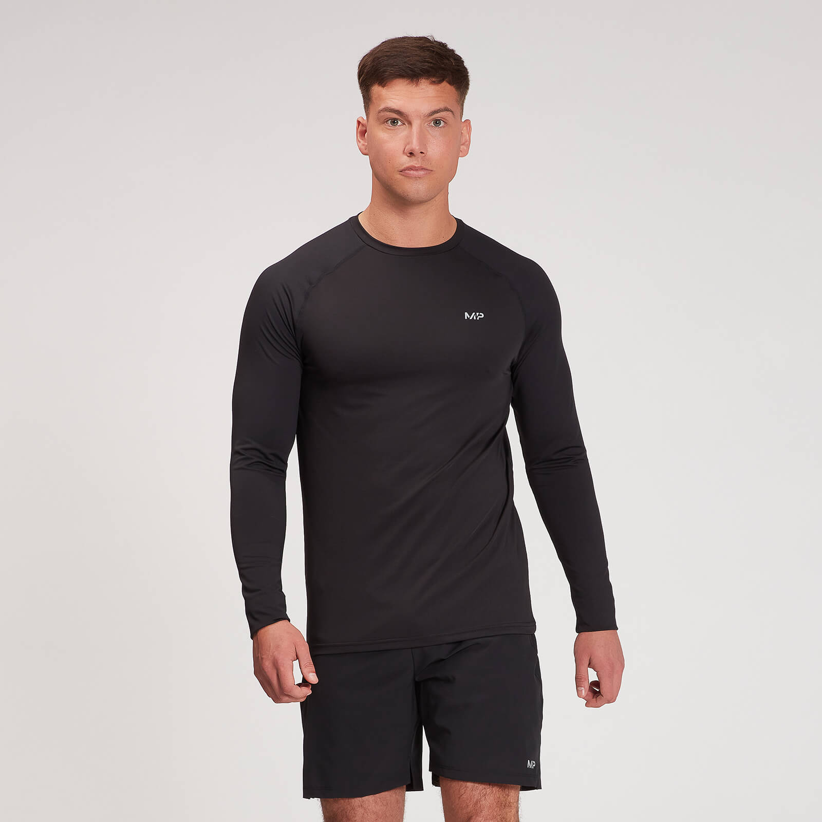 Купить MP Men's Velocity Long Sleeve Top - Black - XXL, Myprotein International