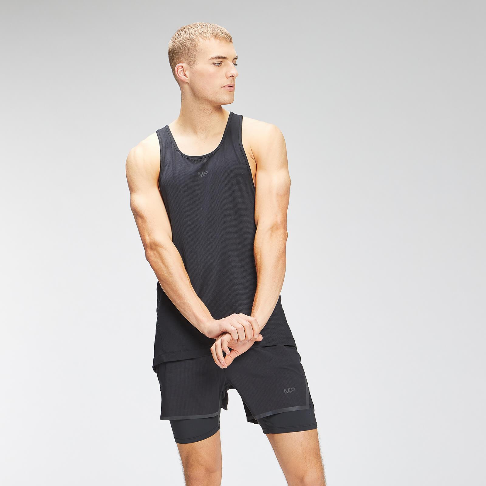 Купить MP Men's Velocity Stringer Vest - Black - L, Myprotein International
