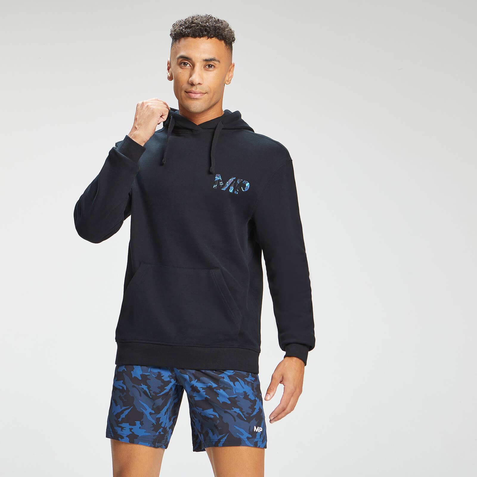 Купить MP Men's Adapt Embroidered Hoodie | Black | MP - S, Myprotein International