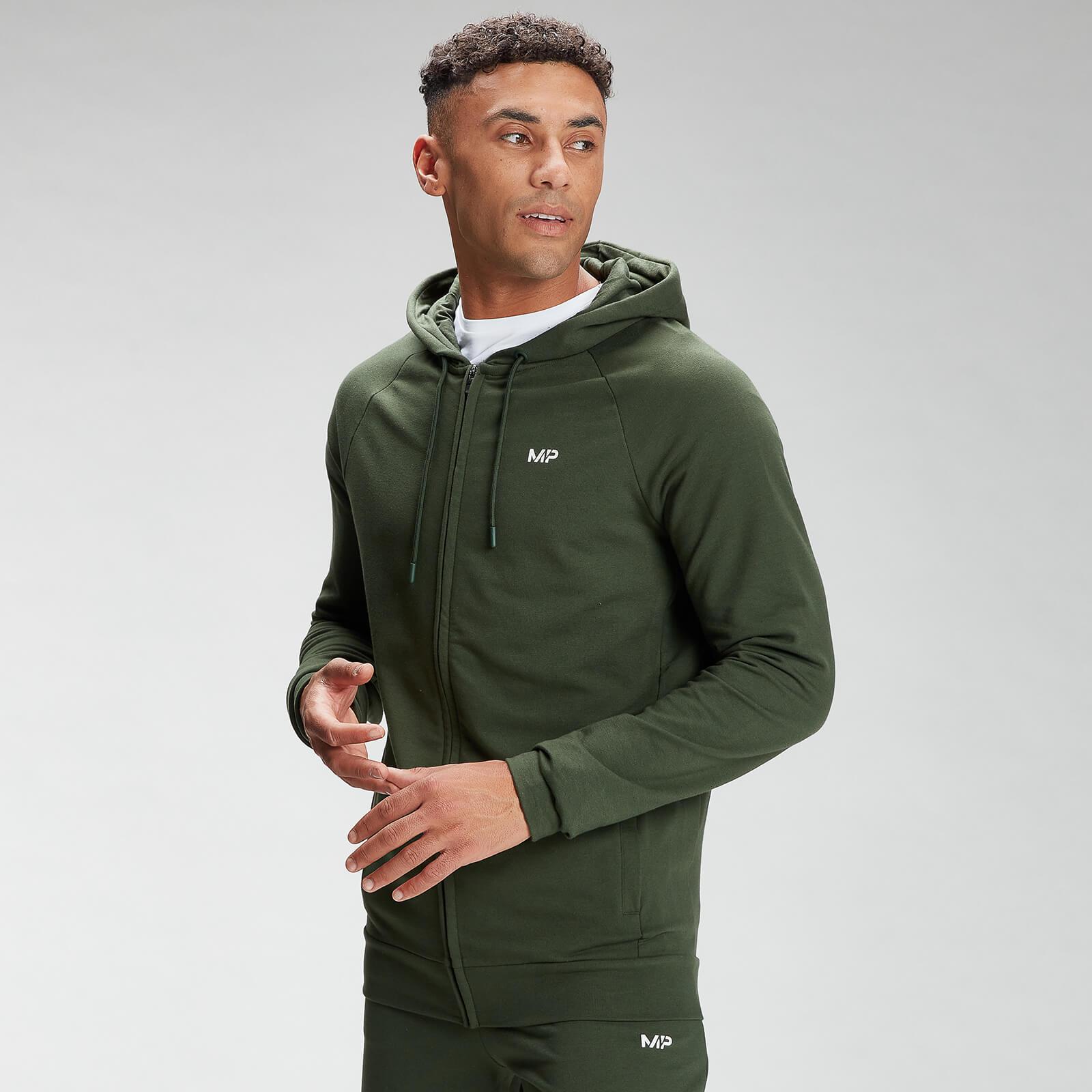 Купить MP Men's Form Zip Up Hoodie - Vine Leaf - XL, Myprotein International