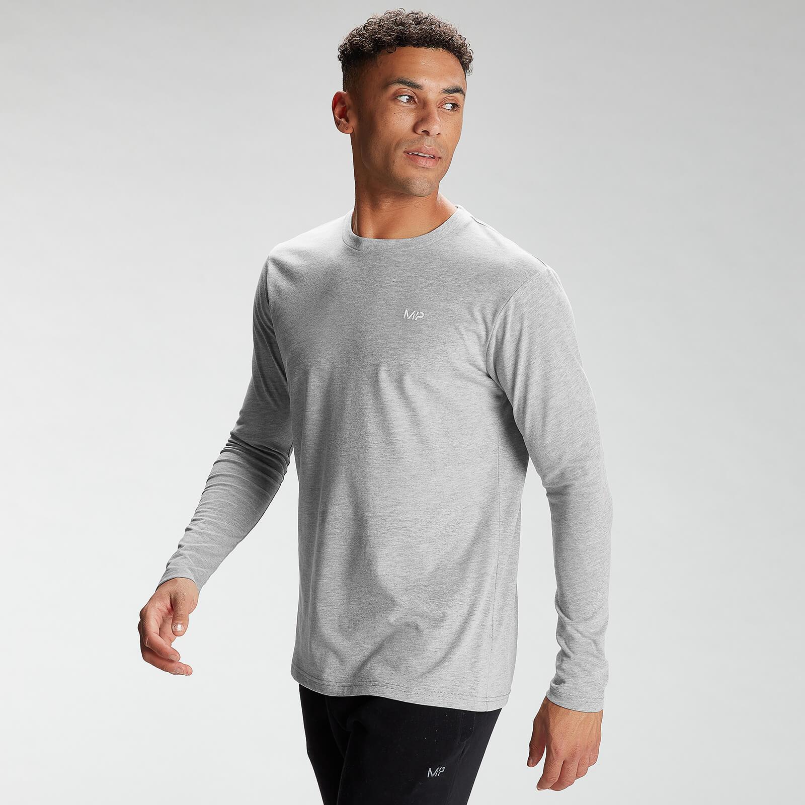 Купить MP Men's Essentials Long Sleeve Top - Grey Marl - XXL, Myprotein International
