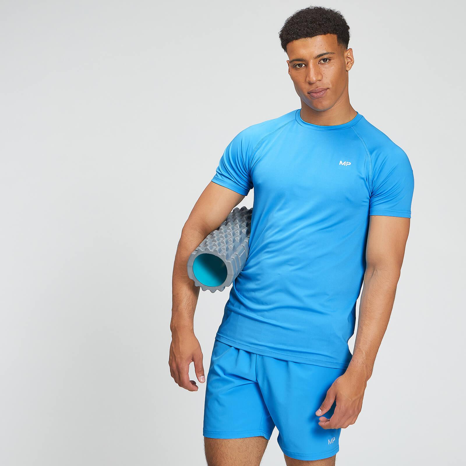 Купить MP Men's Essentials Training T-Shirt - Bright Blue - XXS, Myprotein International