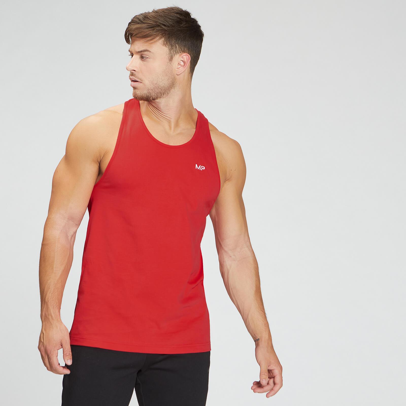 Купить MP Men's Essentials Stringer Vest - Danger - XXXL, Myprotein International