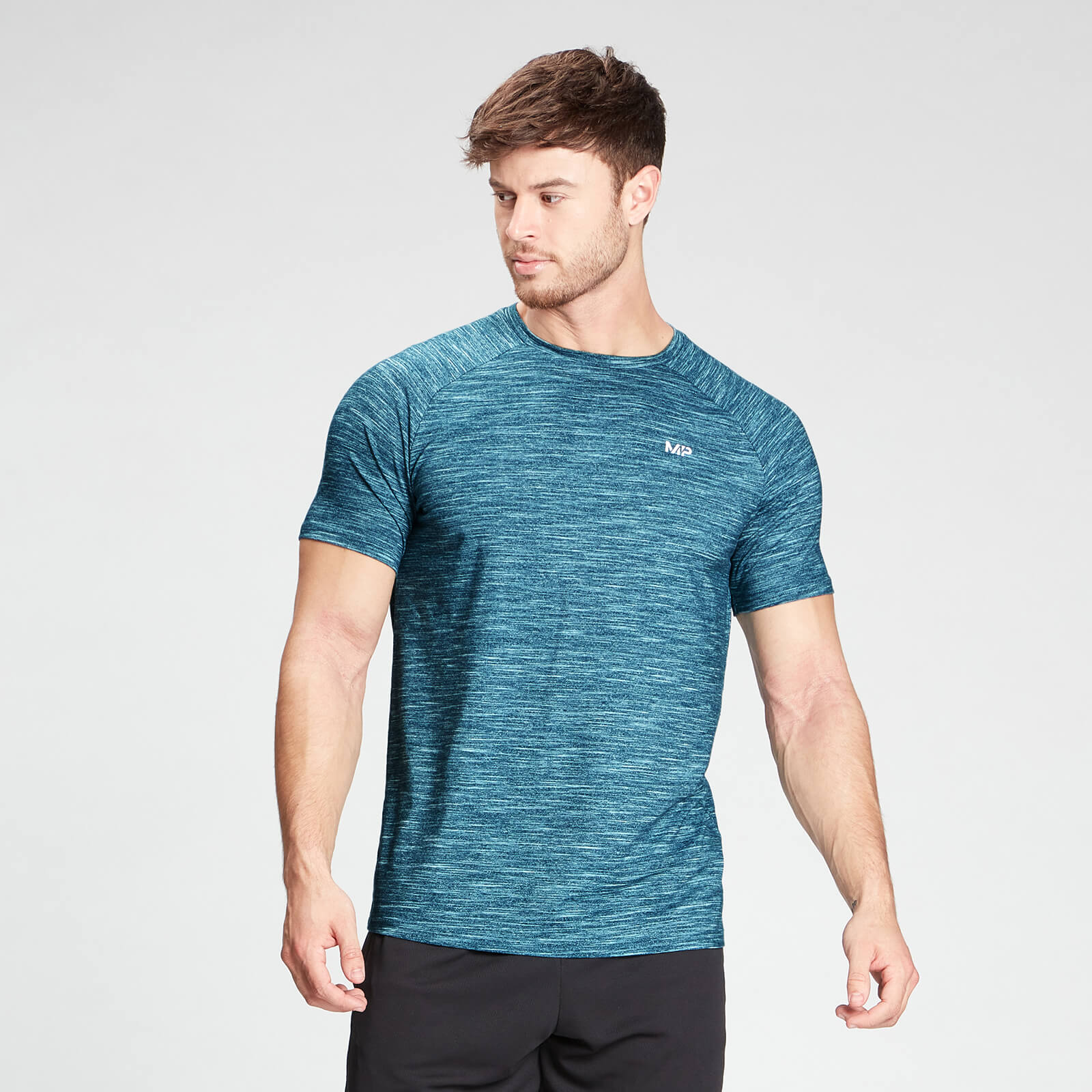 MP Men's Performance Short Sleeve T-Shirt - Deep Lake Marl - S