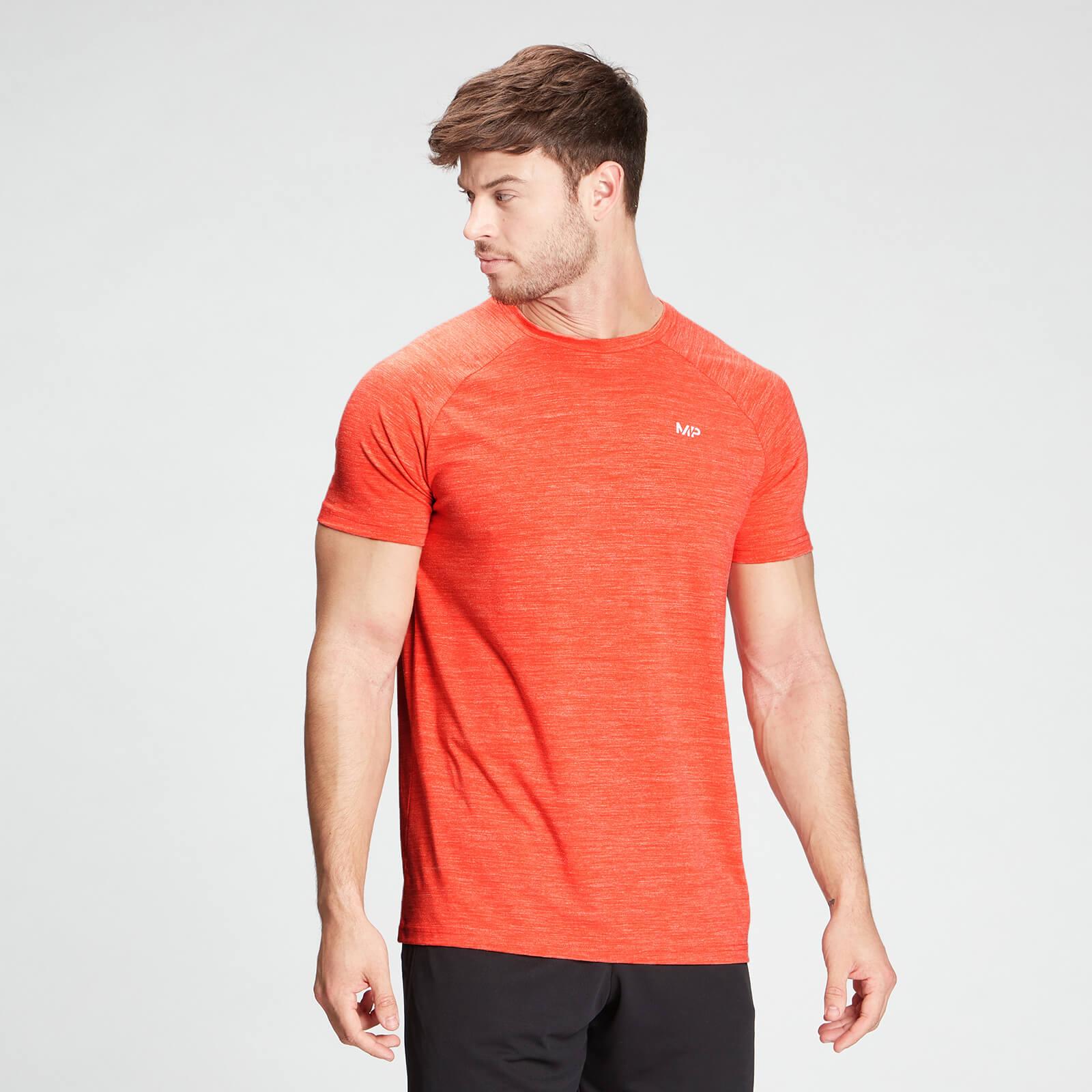 Купить MP Men's Performance Short Sleeve T-Shirt - Fire Marl - XXL, Myprotein International