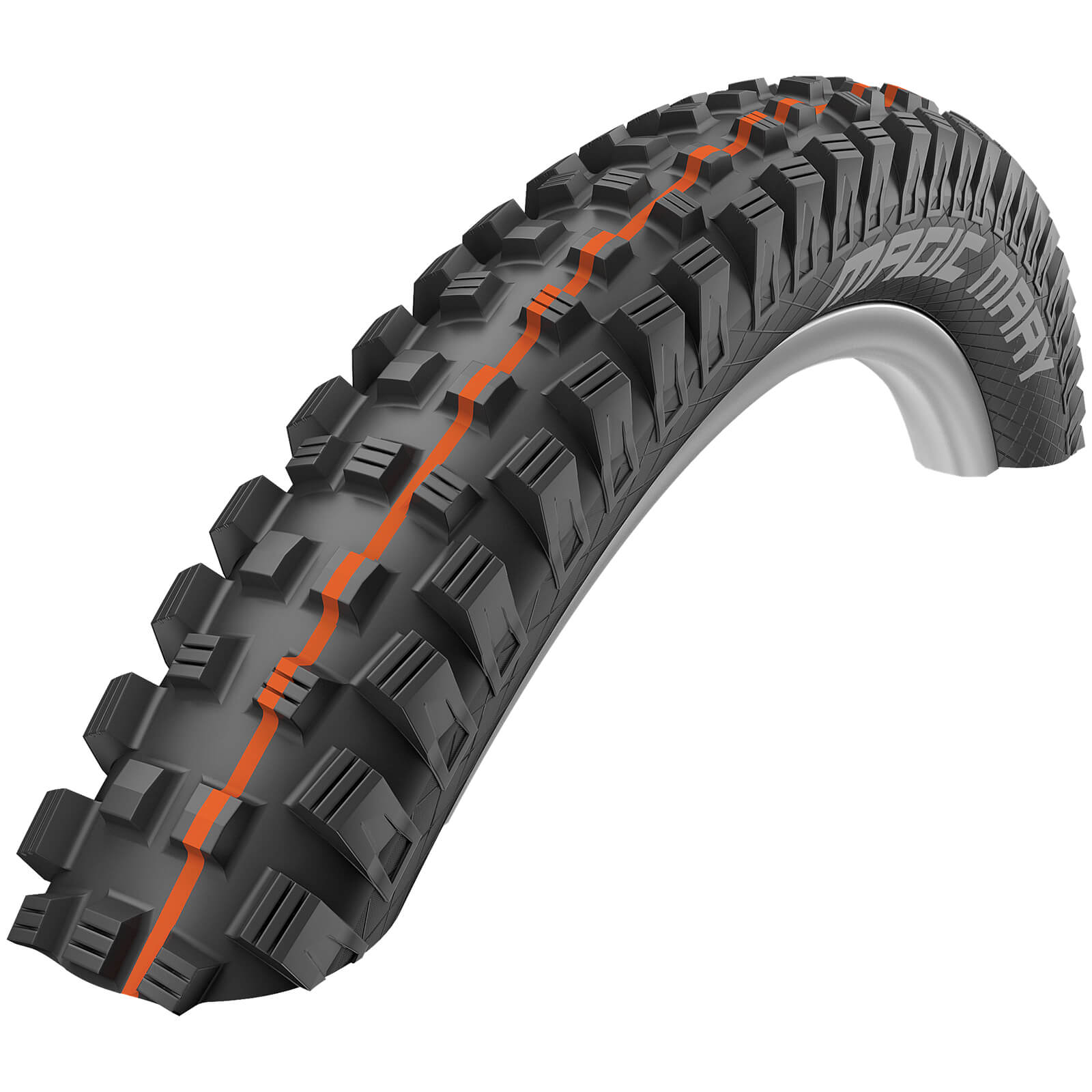 Schwalbe Magic Mary Evo Super Gravity Tubeless MTB Tyre - Black - 27.5in x 2.40in - Classic Skin