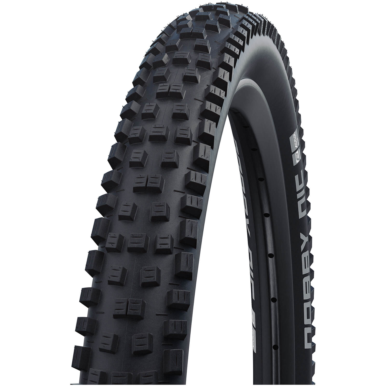 Schwalbe Nobby Nic Performance DD RaceGuard Tubeless MTB Tyre - Black - 26in x 2.35in