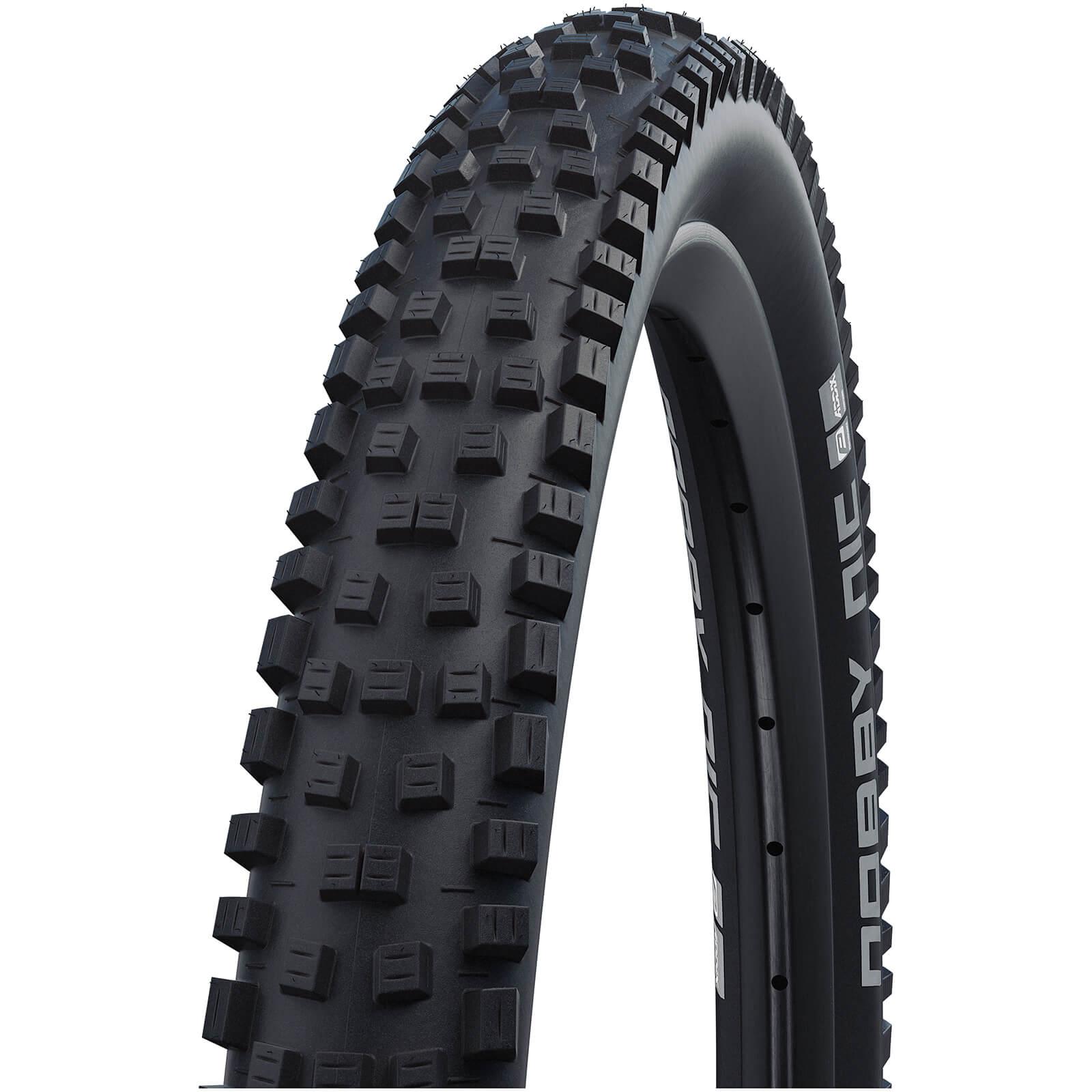 Schwalbe Nobby Nic Performance TwinSkin Clincher MTB Tyre - Black - 26in x 2.25in