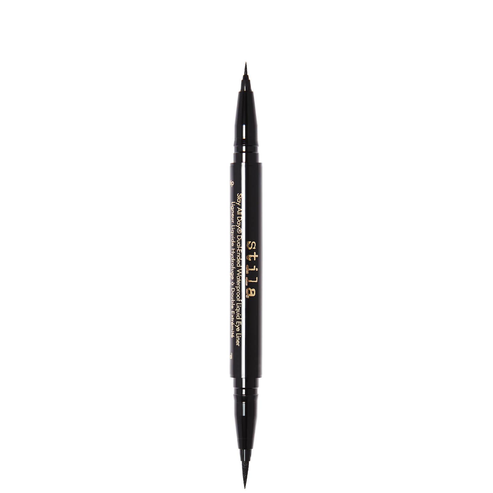 Купить Stila Stay All Day® Dual-Ended Waterproof Liquid Eye Liner 1ml (Various Shades) - Intense Black