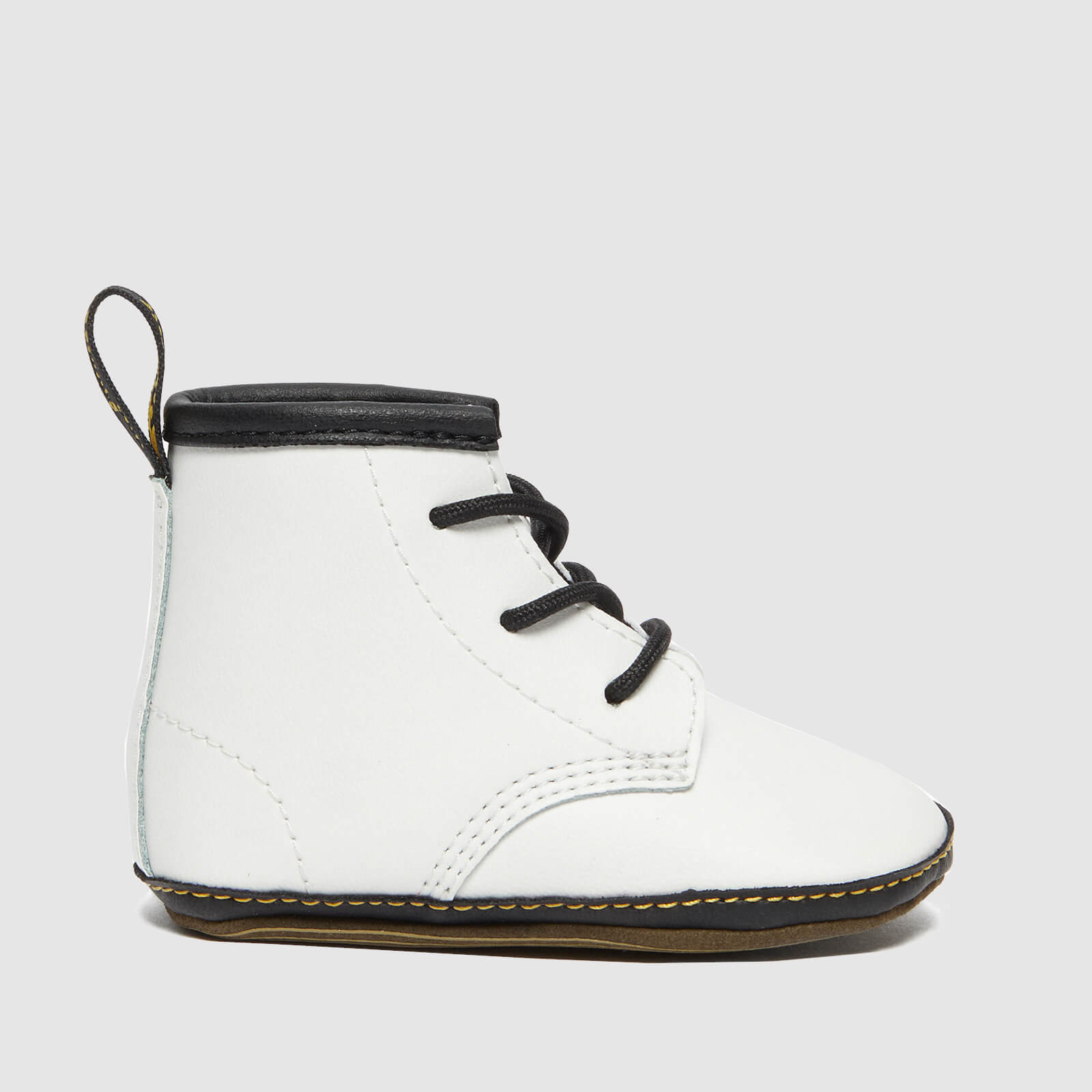 Dr. Martens Babies' 1460 Crib Lace Bootie - White Mason - UK 1 Baby