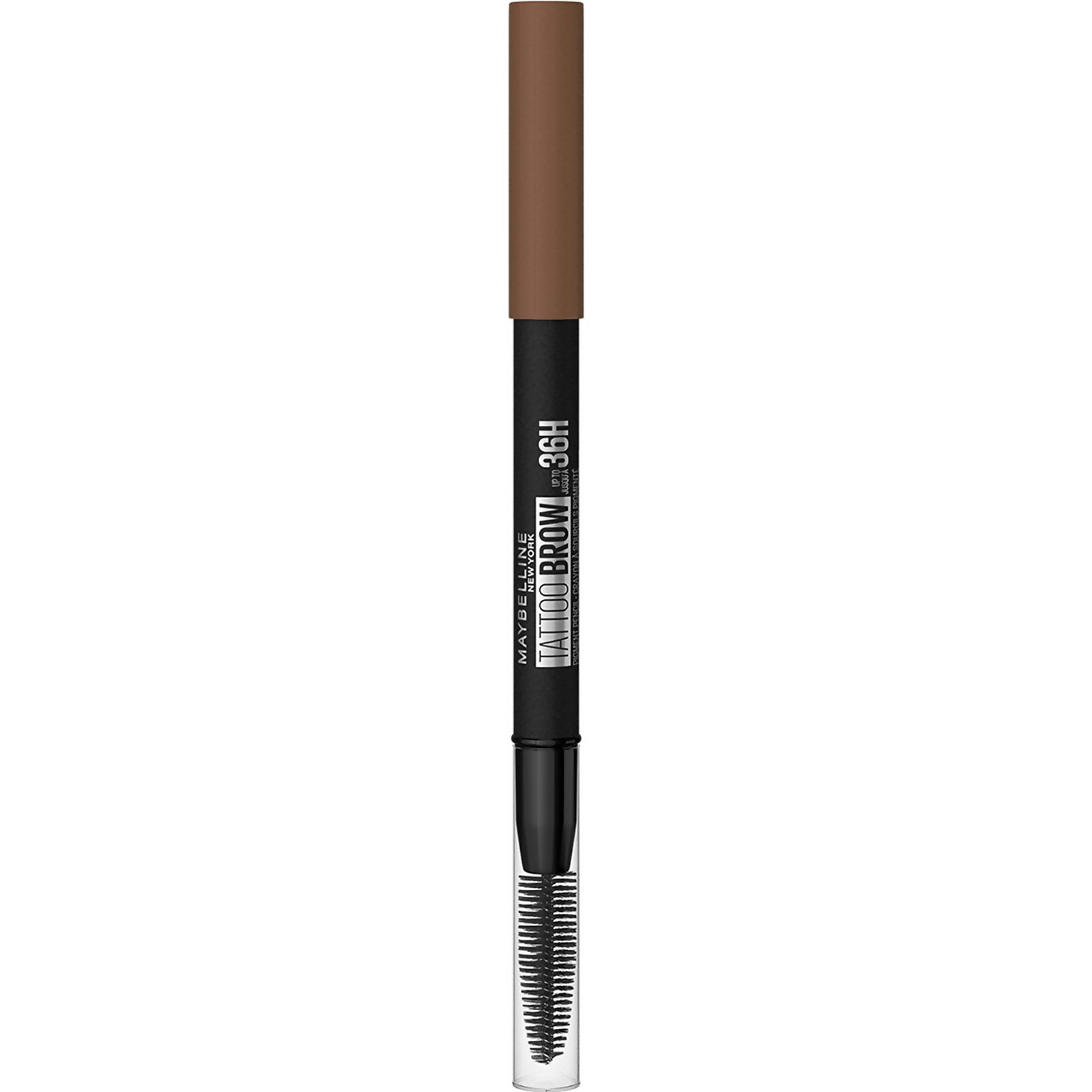 Maybelline Tattoo Brow Semi Permanent 36Hr Eyebrow Pencil 9.36g (Various Shades) - 3 Soft Brown