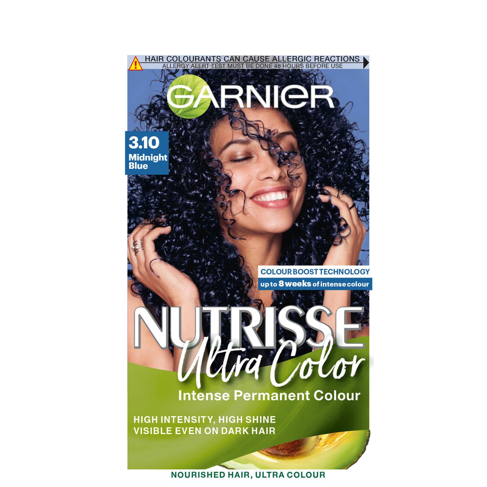 garnier nutrisse ultra colour permanent hair dye 160ml (various shades) - midnight blue