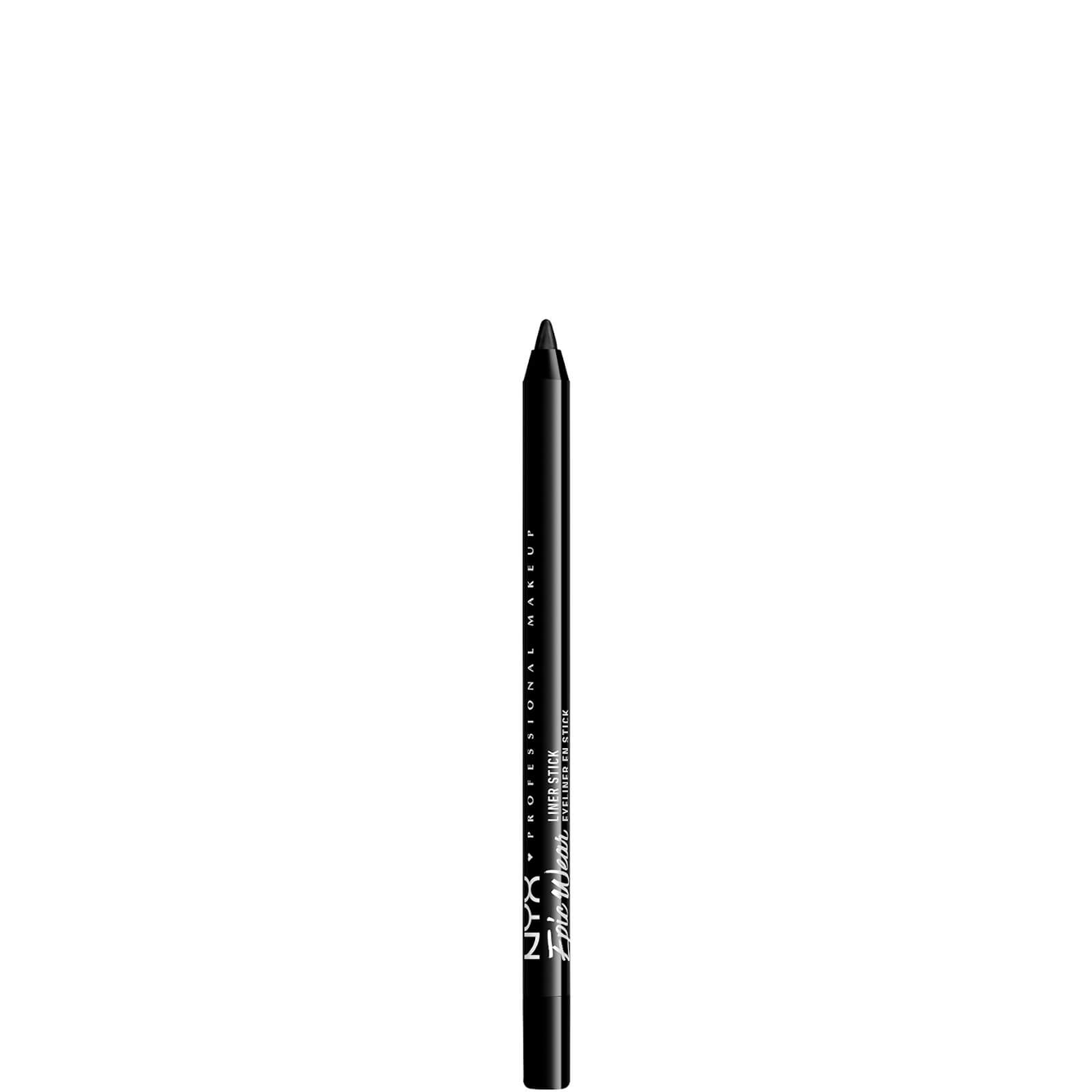 nyx professional makeup epic wear long lasting liner stick 5.44g (various shades) - pitch black