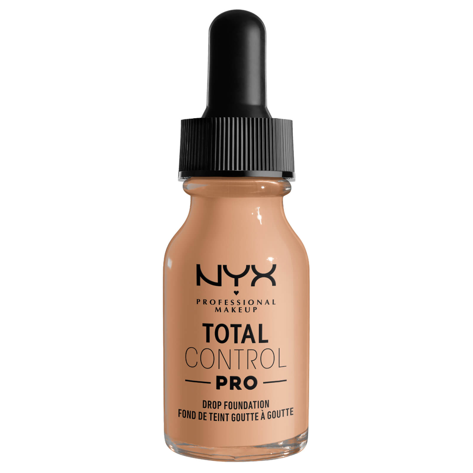 Купить NYX Professional Makeup Total Control Pro Drop Controllable Coverage Foundation - Soft Beige 60ml