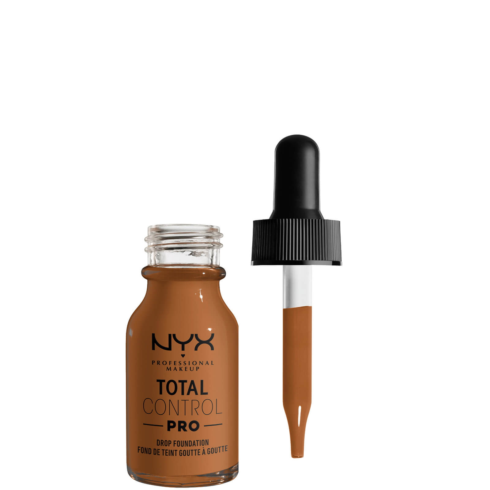 Купить NYX Professional Makeup Total Control Pro Drop Controllable Coverage Foundation 13ml (Various Shades) - Almond