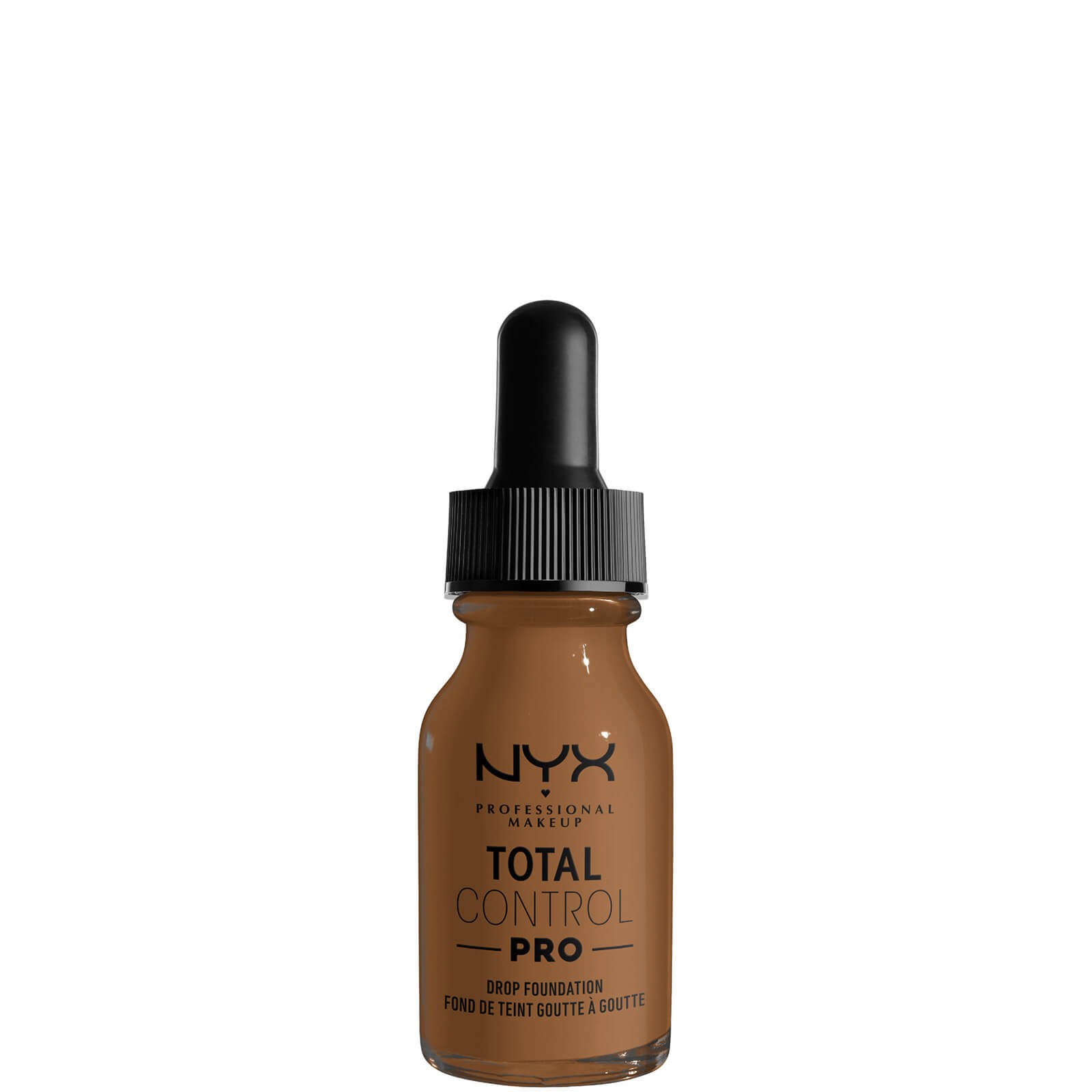 nyx professional makeup total control pro drop controllable coverage foundation 60ml (various shades) - sienna