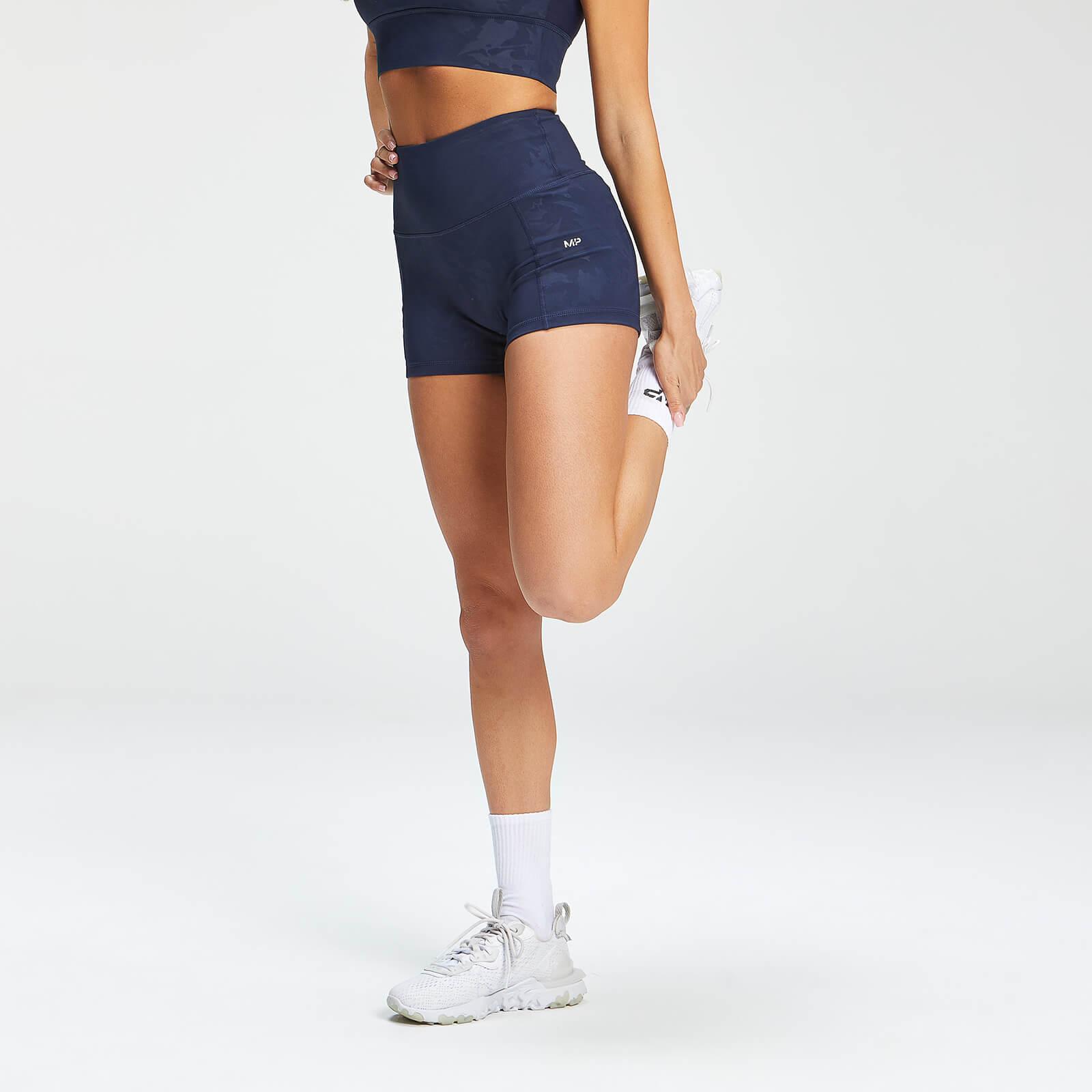 Купить MP Women's Adapt Camo Booty Shorts - Petrol Blue - XXL, Myprotein International