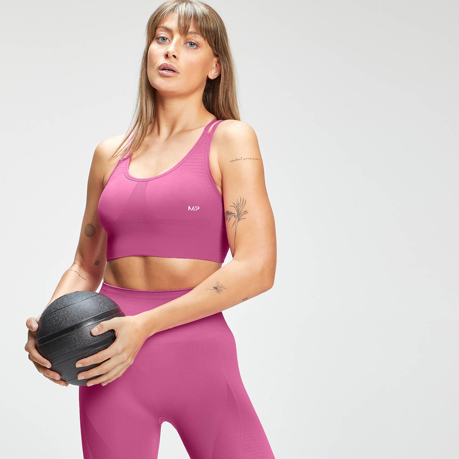 Купить MP Women's Tempo Seamless Sports Bra - Pink - XXS, Myprotein International