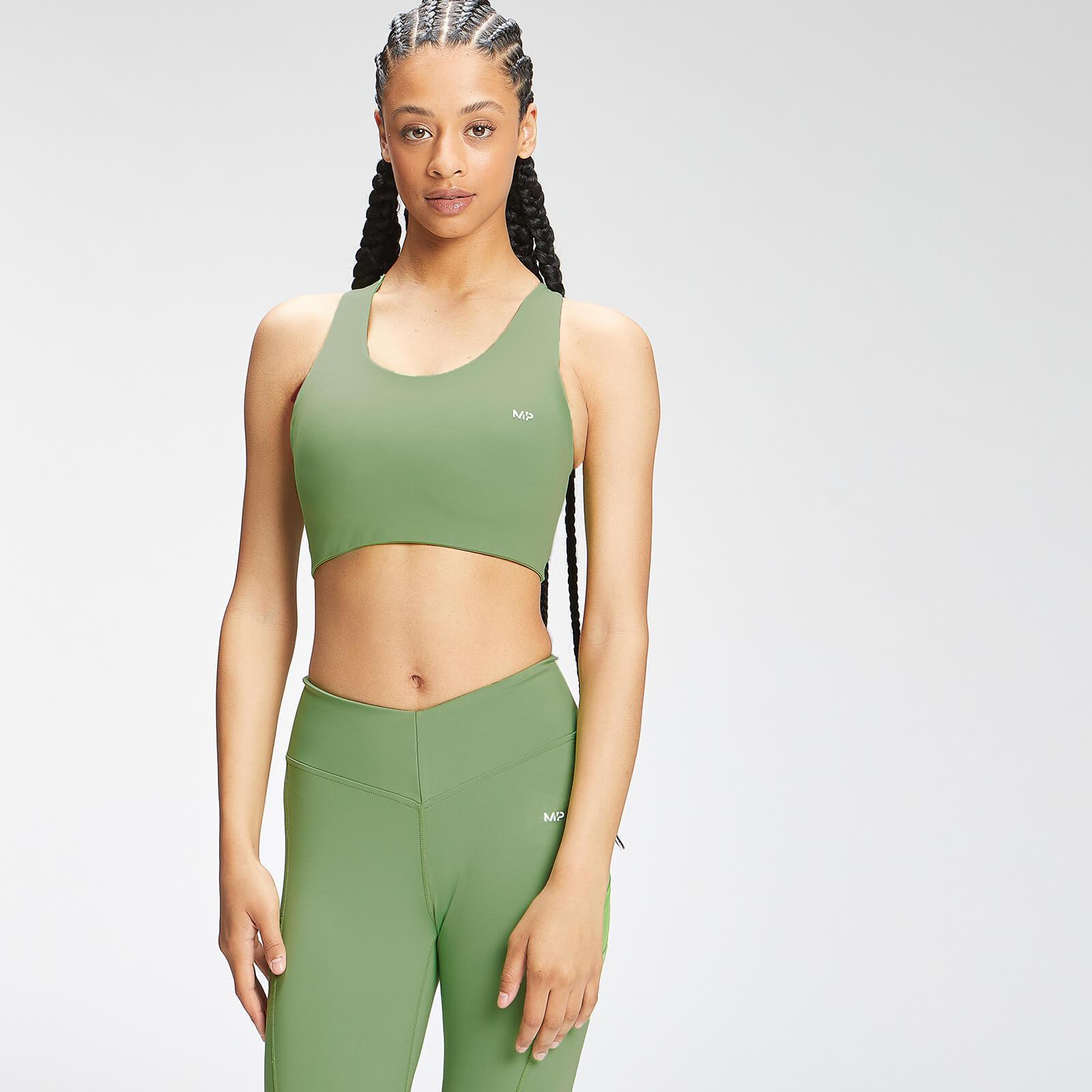 MP Women's Tempo Cross Back Sports Bra - Apple Green - L, Myprotein International  - купить со скидкой