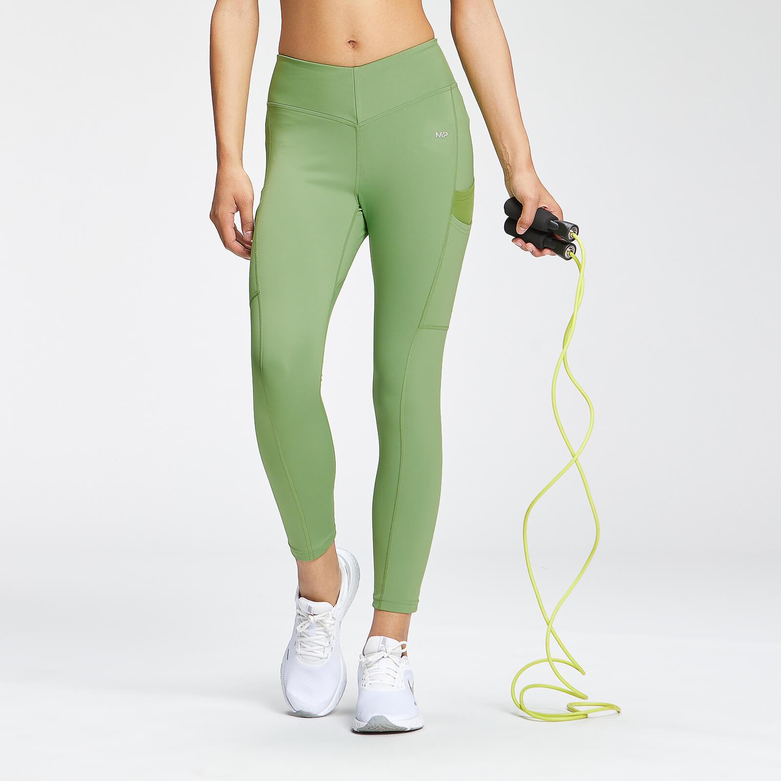 Купить MP Women's Tempo 7/8 Leggings - Apple Green - XXS, Myprotein International