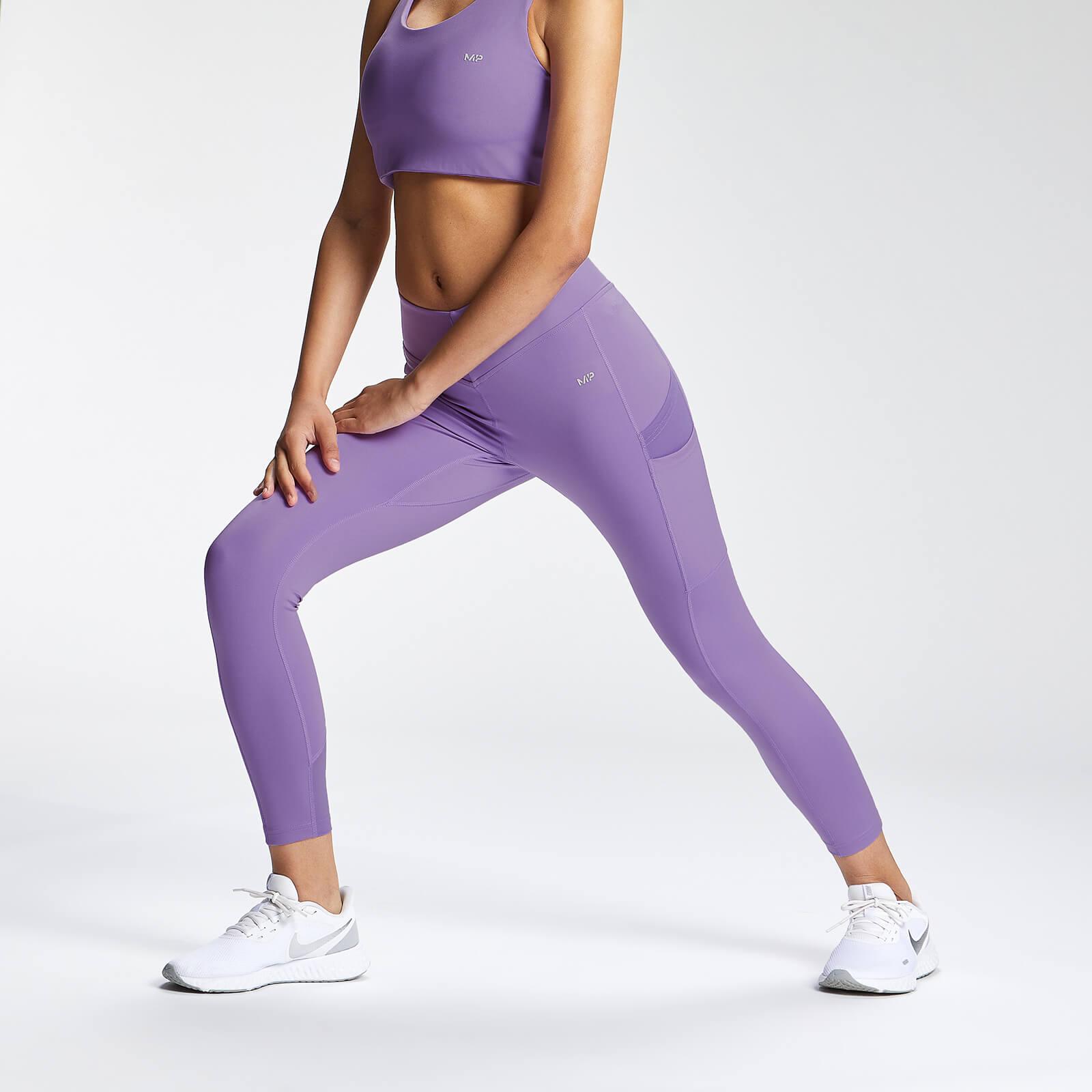 Купить MP Women's Tempo 7/8 Leggings - Deep Lilac - XXS, Myprotein International