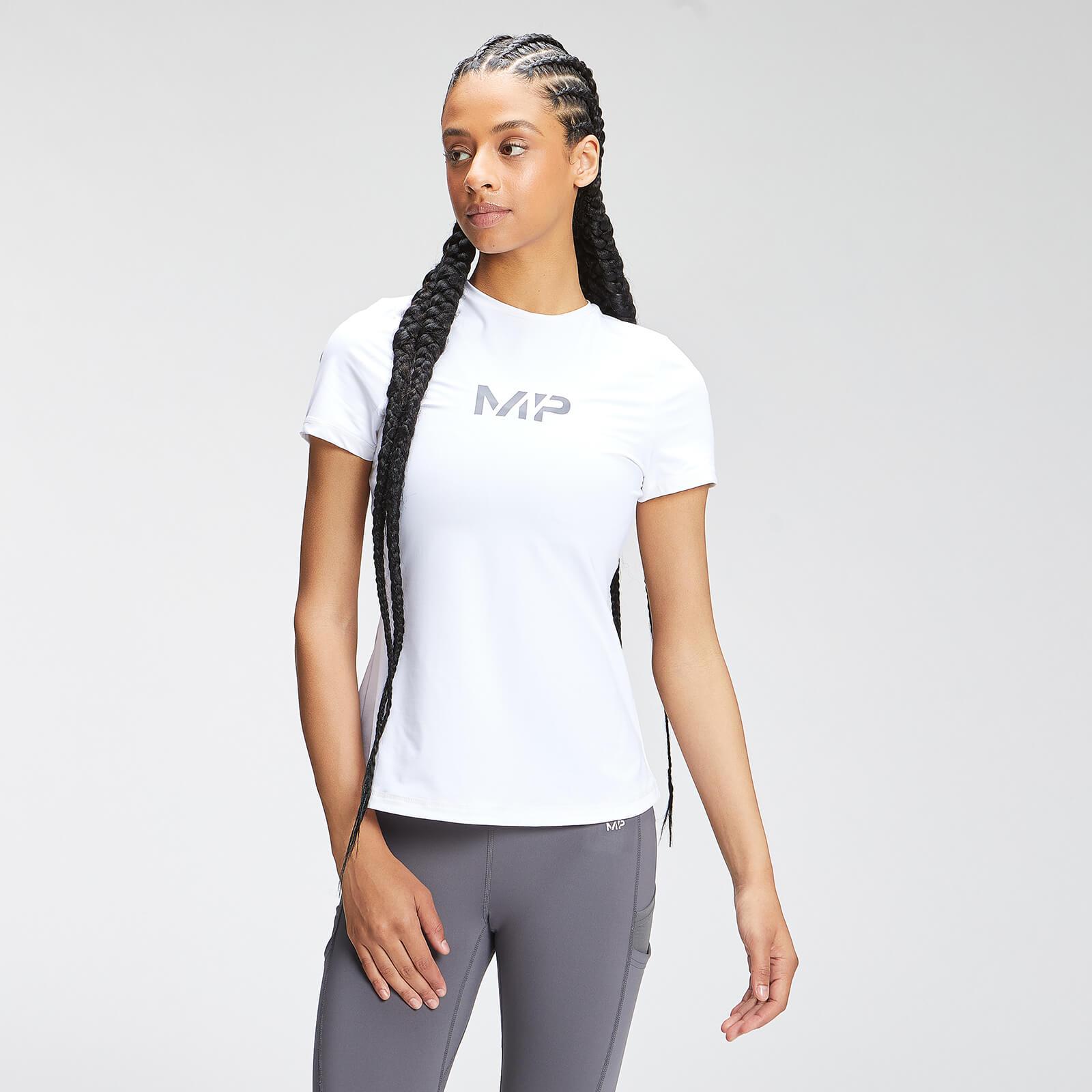 MP Women's Tempo Short Sleeve Top - White - S, Myprotein International  - купить со скидкой