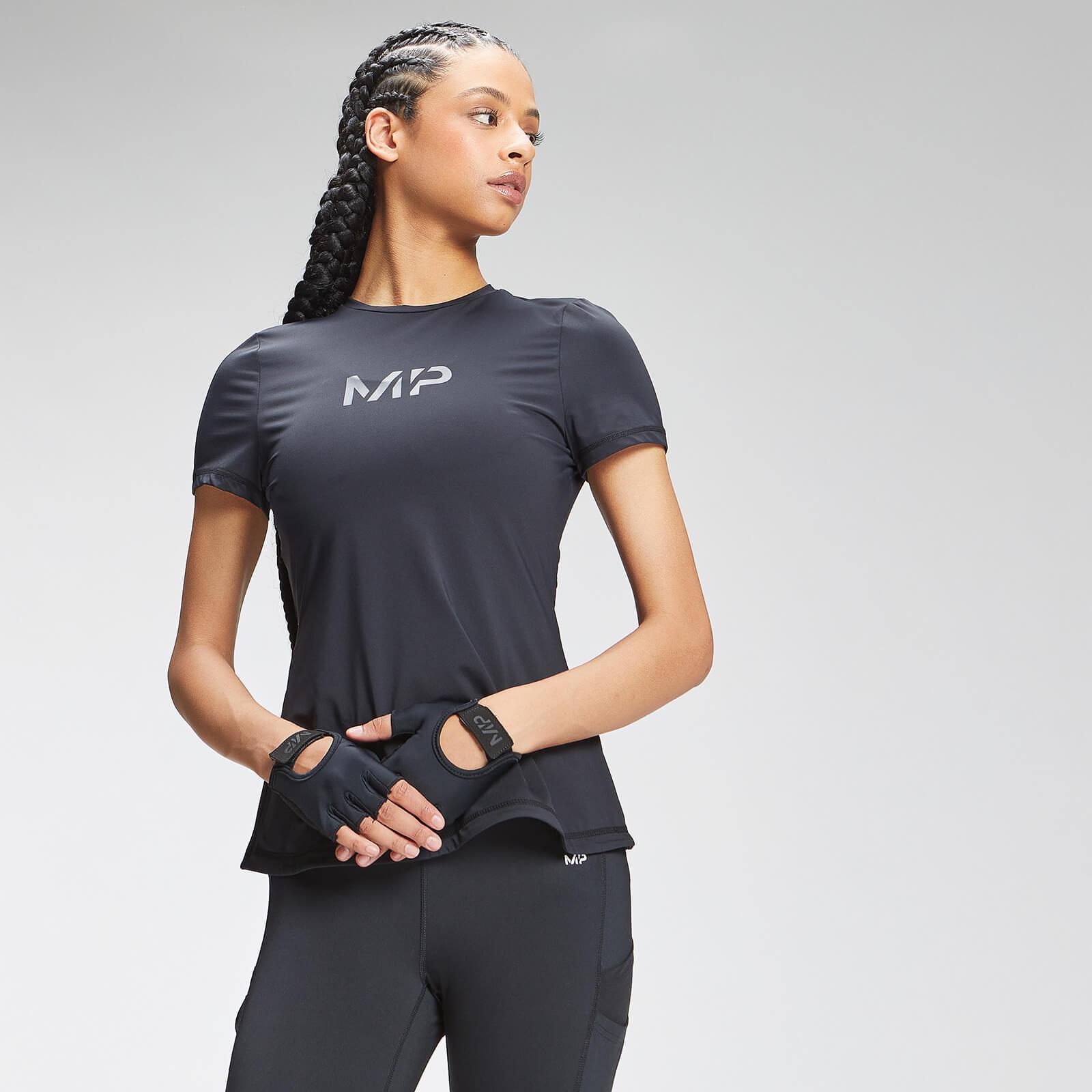 Купить MP Women's Tempo Short Sleeve Top - Black - S, Myprotein International