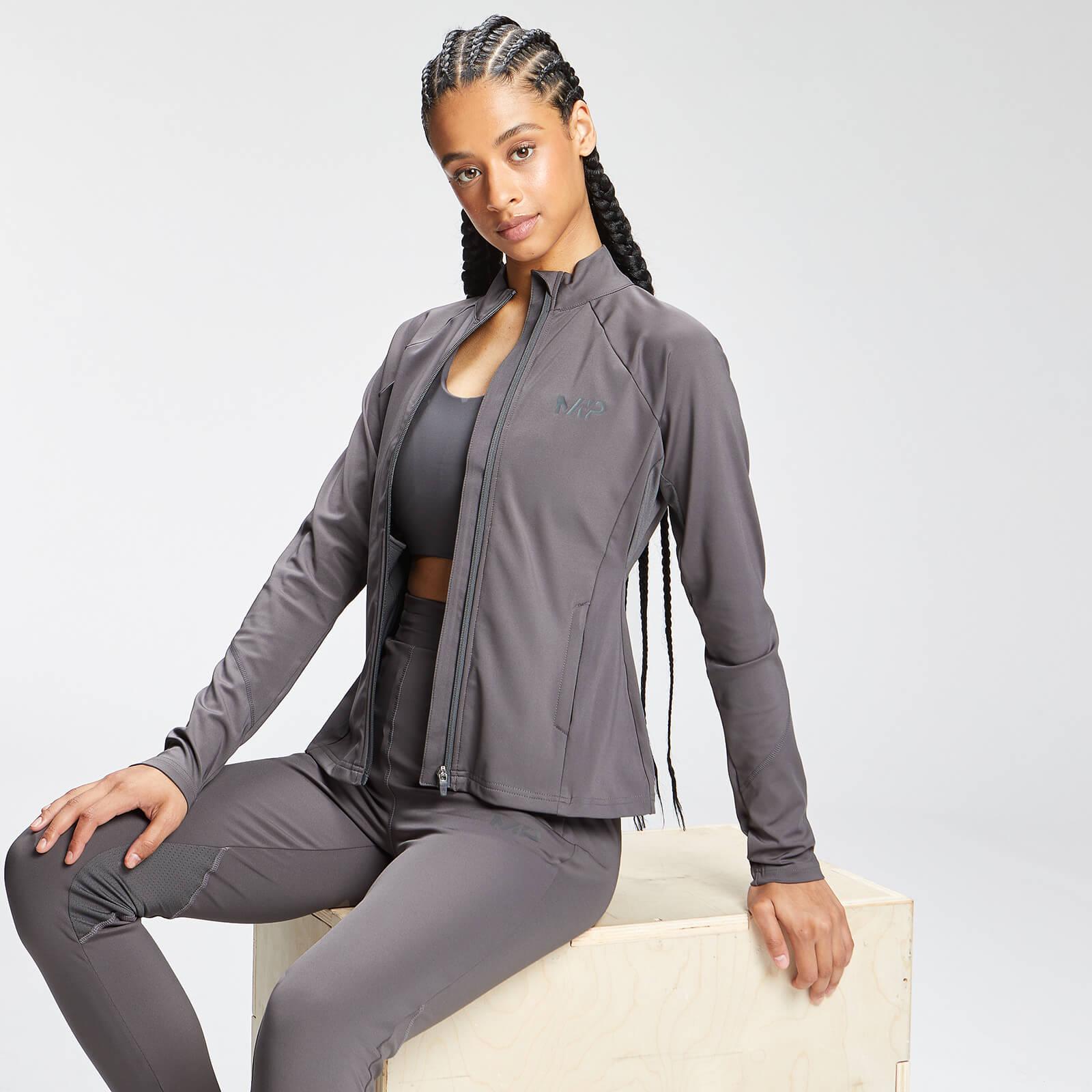 MP Women's Tempo Zip Front Jacket - Carbon - XXL, Myprotein International  - купить со скидкой