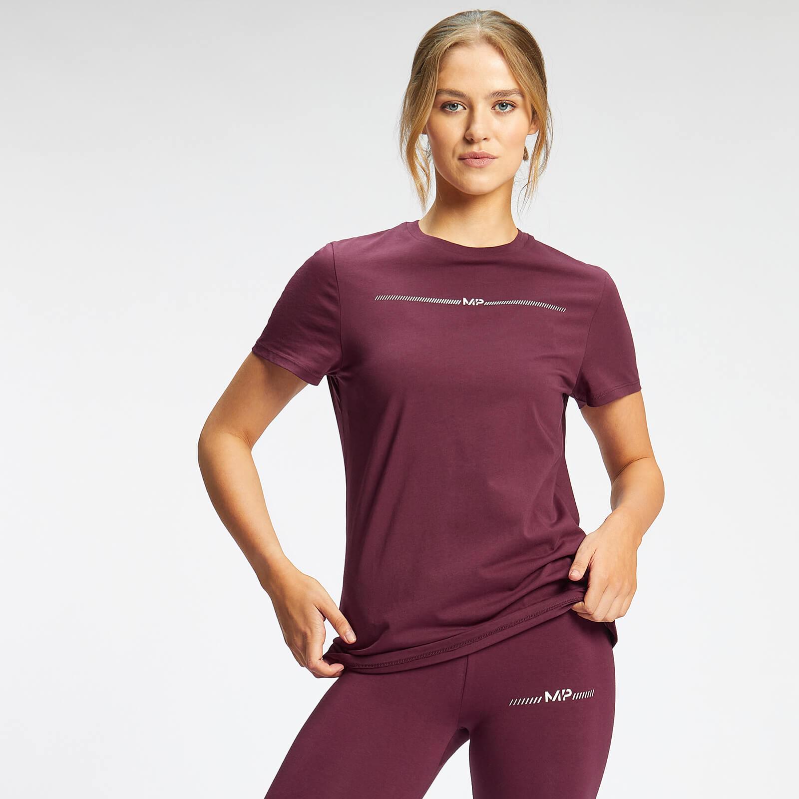 Купить MP Women's Mini Mark Graphic T-Shirt - Merlot - S, Myprotein International