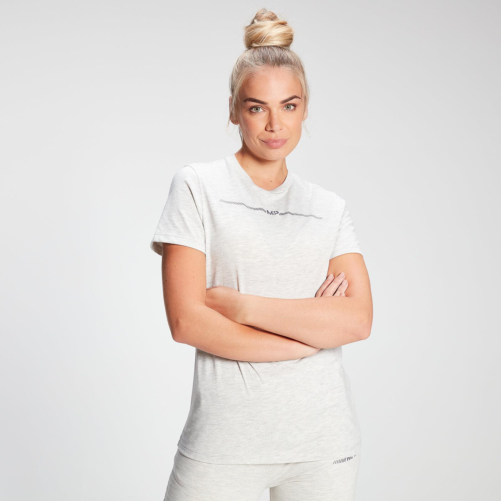 Купить MP Women's Mini Mark Graphic T-Shirt - Light Grey Marl - XXL, Myprotein International