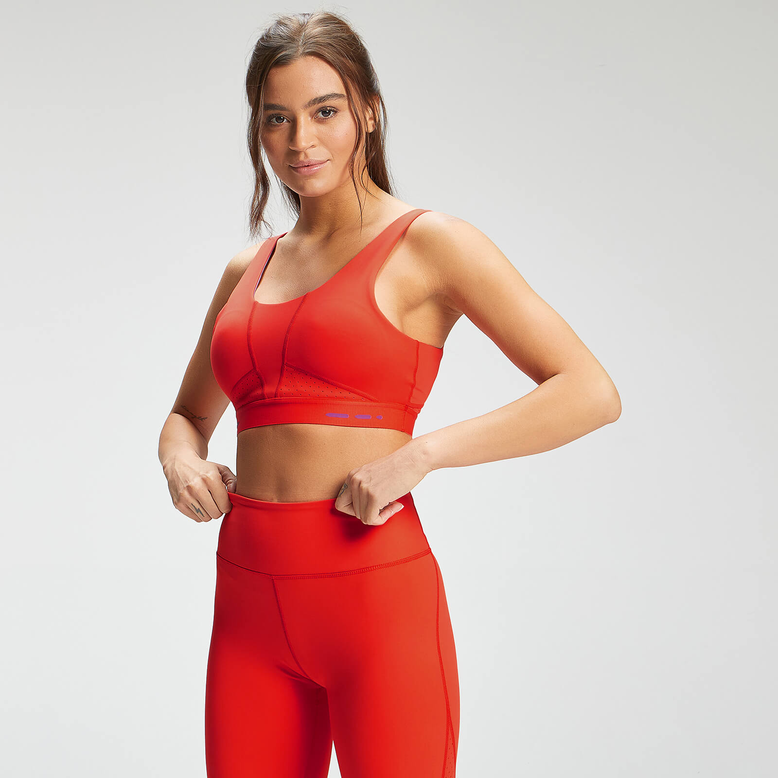 Купить MP Women's Power Ultra Sports Bra - Fire/Orchid - XL, Myprotein International