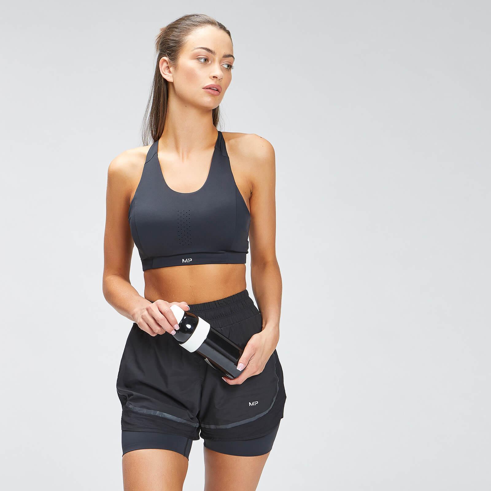 MP Women's Velocity Reflective Sports Bra - Black - XXS, Myprotein International  - купить со скидкой