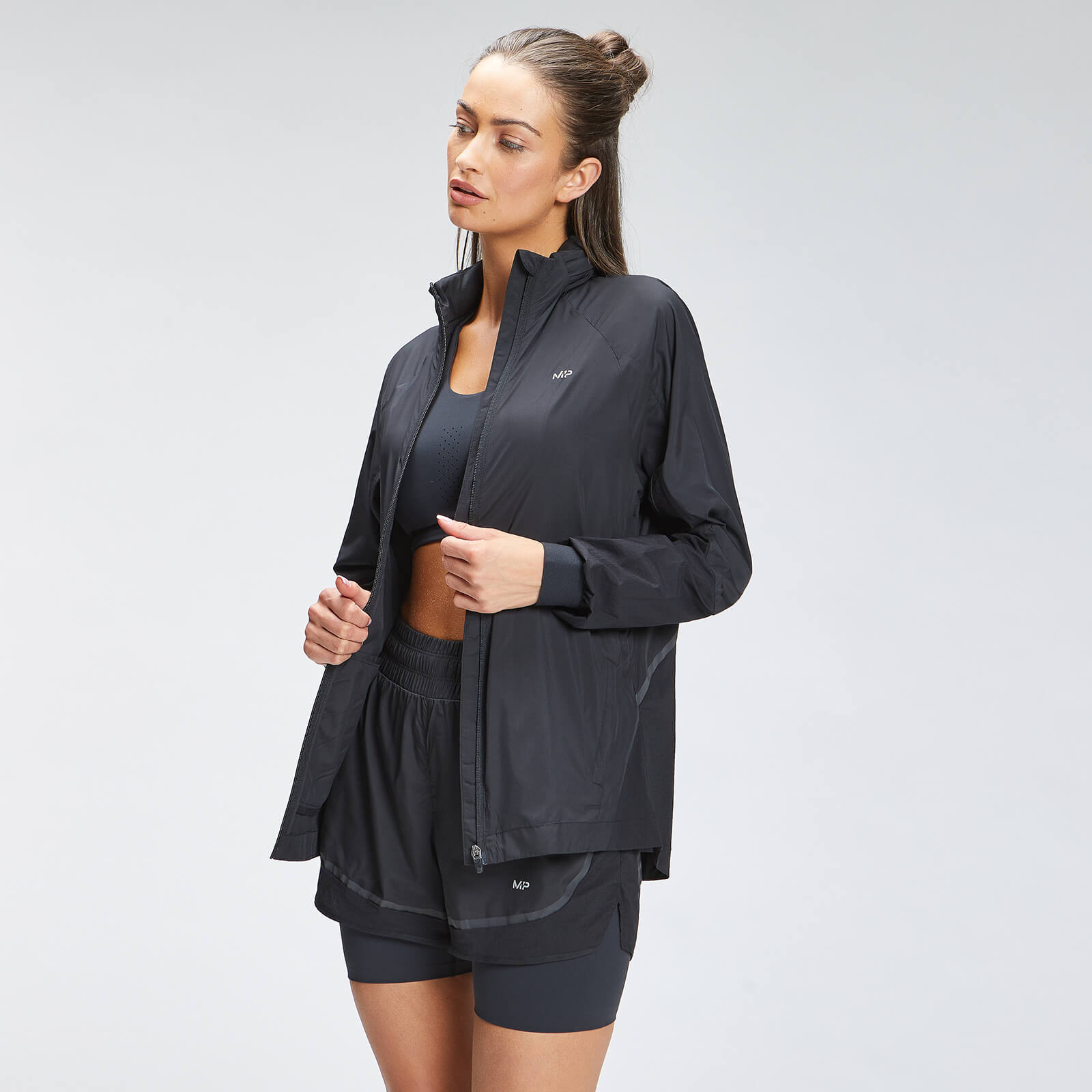 Купить MP Women's Velocity Running Jacket - Black - XXS, Myprotein International