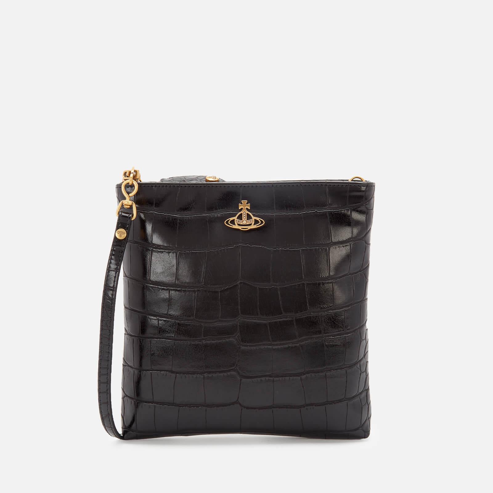 Vivienne Westwood Women's Johanna New Square Cross Body Bag - Black
