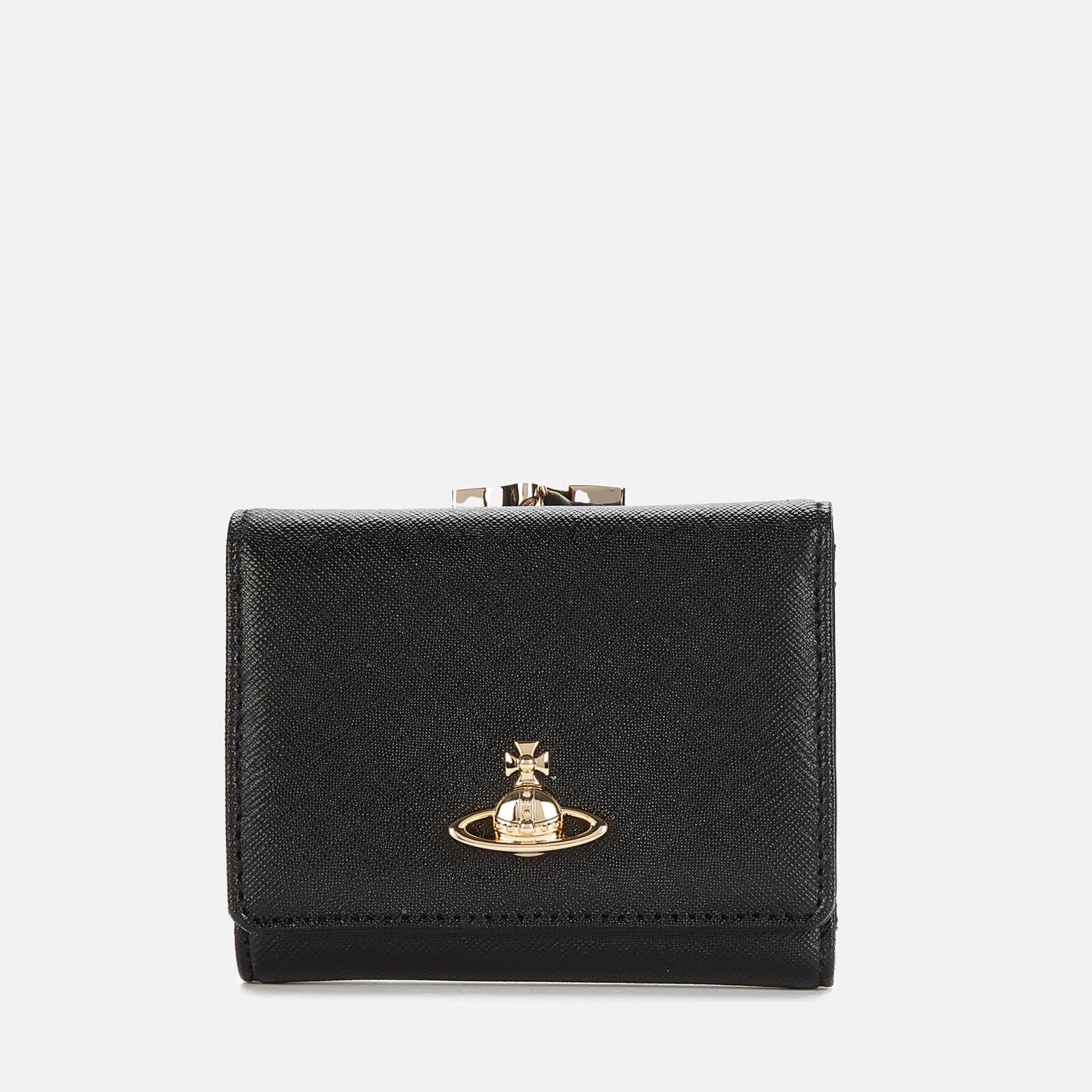 Vivienne Westwood Women's Victoria Small Frame Wallet - Black