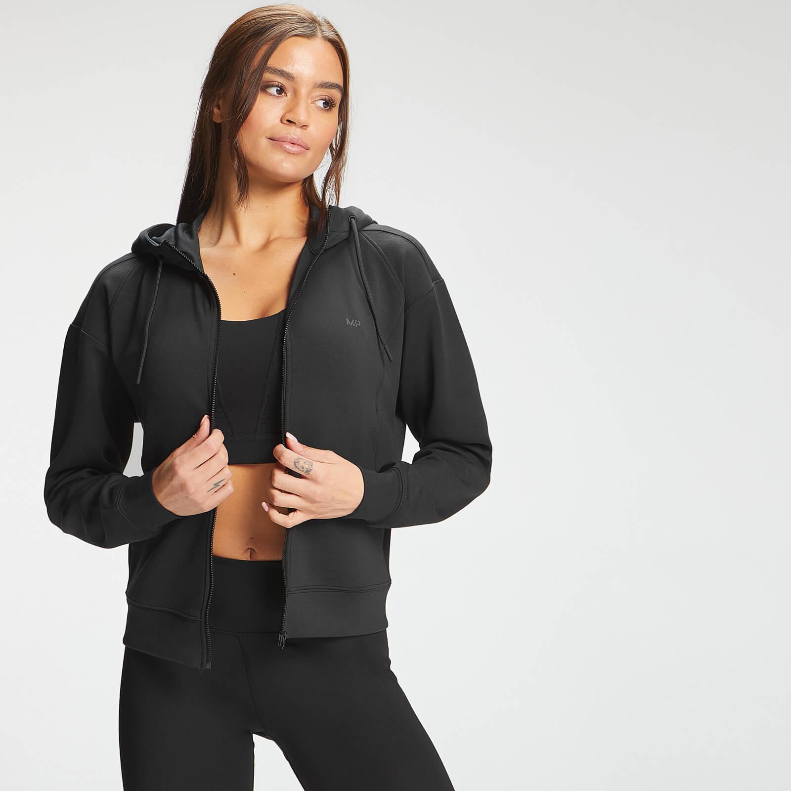 Купить MP Women's Power Ultra Zip Through Hoodie - Black - XS, Myprotein International