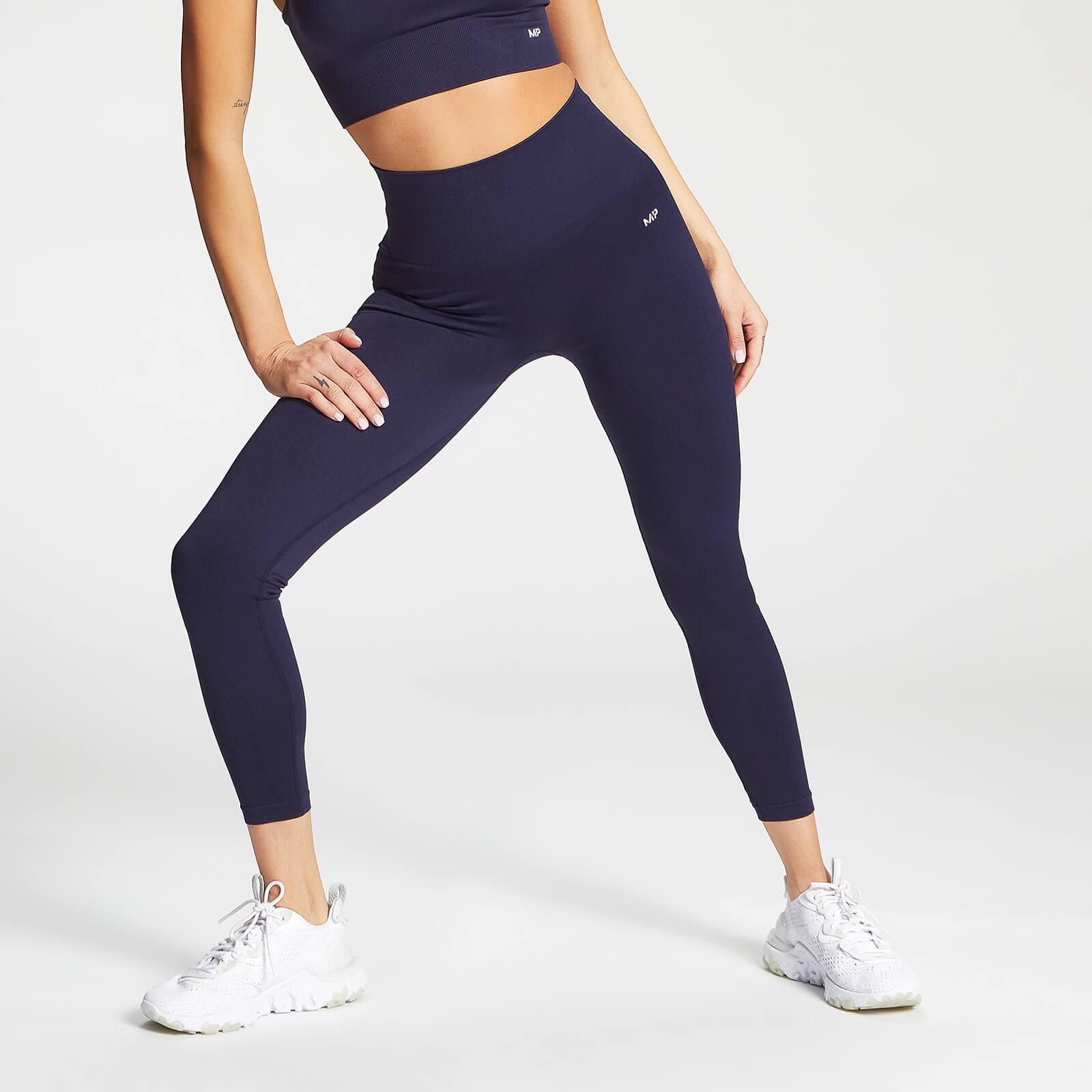 Купить MP Women's Shape Seamless Ultra 7/8 Leggings - Navy - XS, Myprotein International
