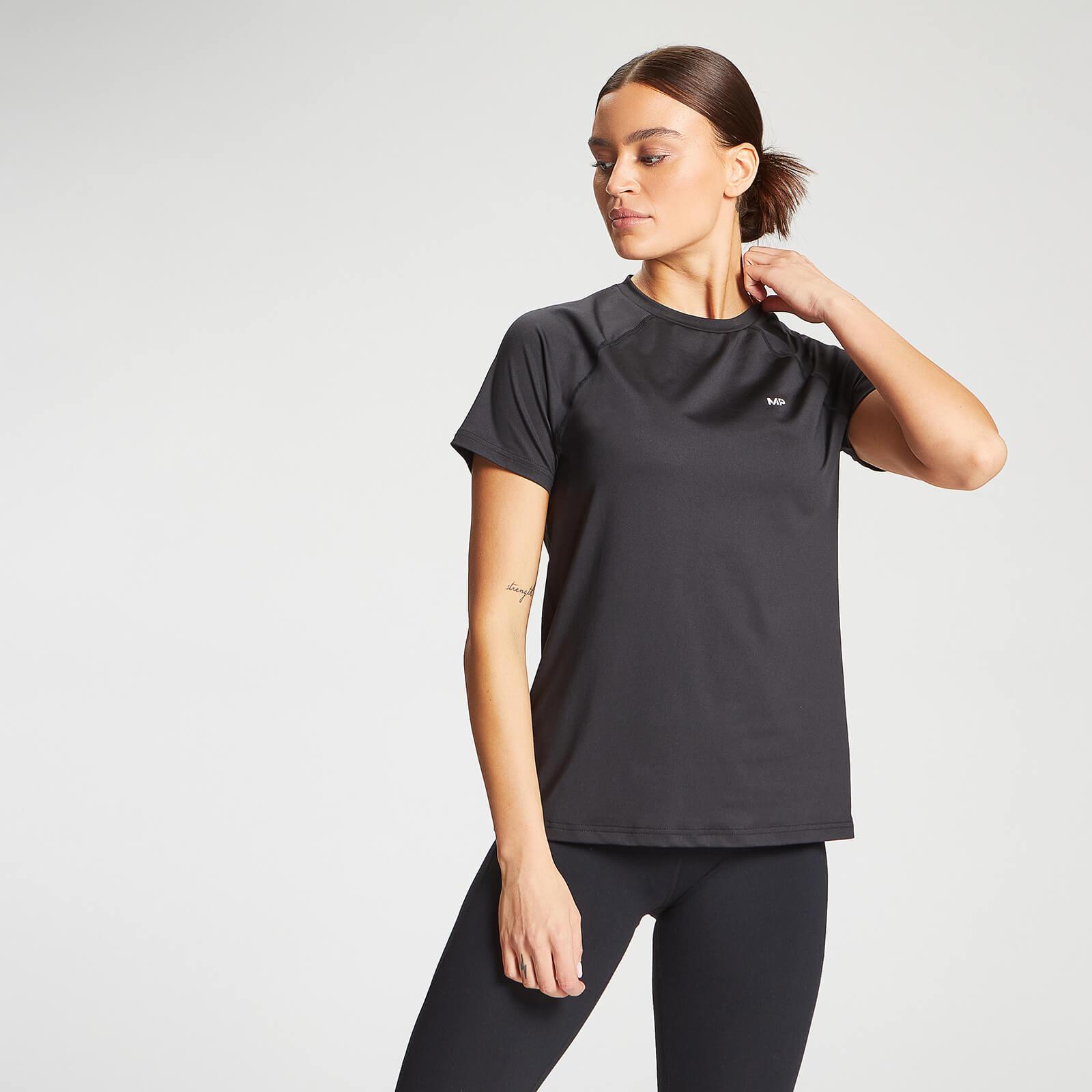 Купить MP Women's Essentials Training Regular T-Shirt - Black - XXL, Myprotein International