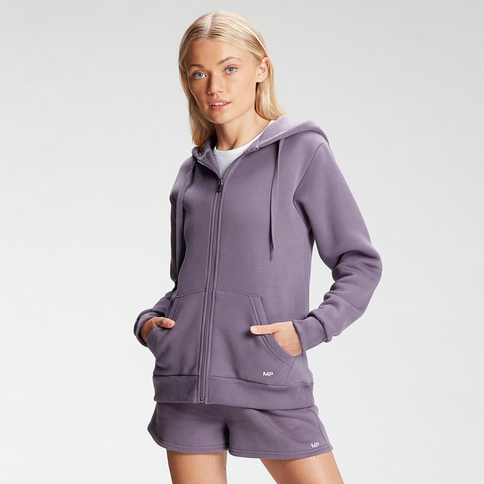 Купить MP Essentials Women's Zip Through Hoodie - Smokey Purple - XXL, Myprotein International