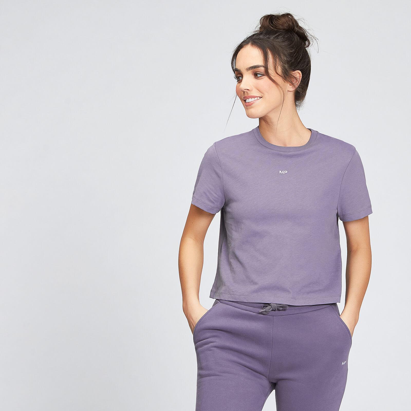 Купить MP Women's Essentials Crop T-Shirt - Smokey Purple - XL, Myprotein International