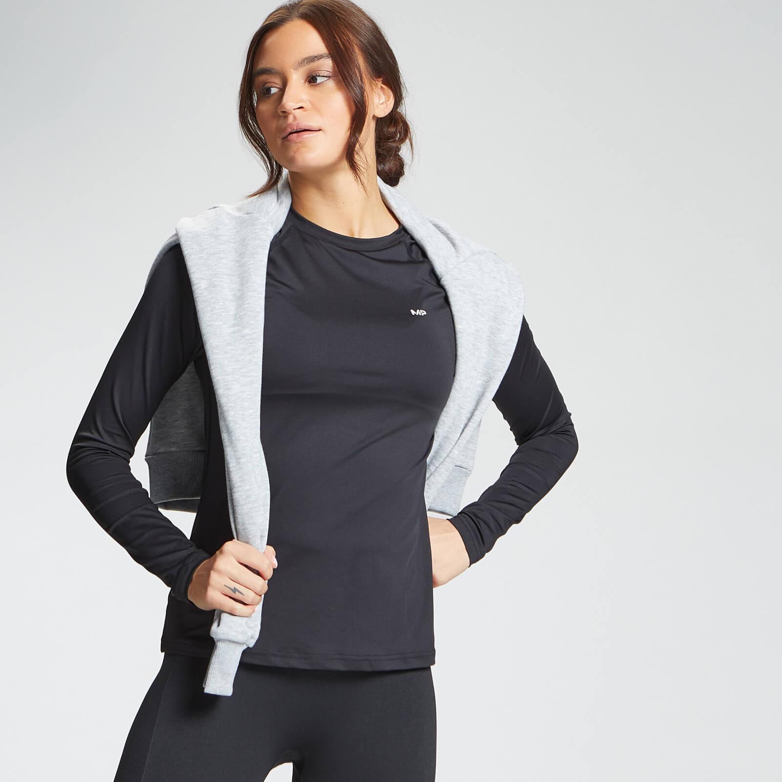 Купить MP Women's Essentials Training Slim Fit Long Sleeve Top - Black - XXS, Myprotein International